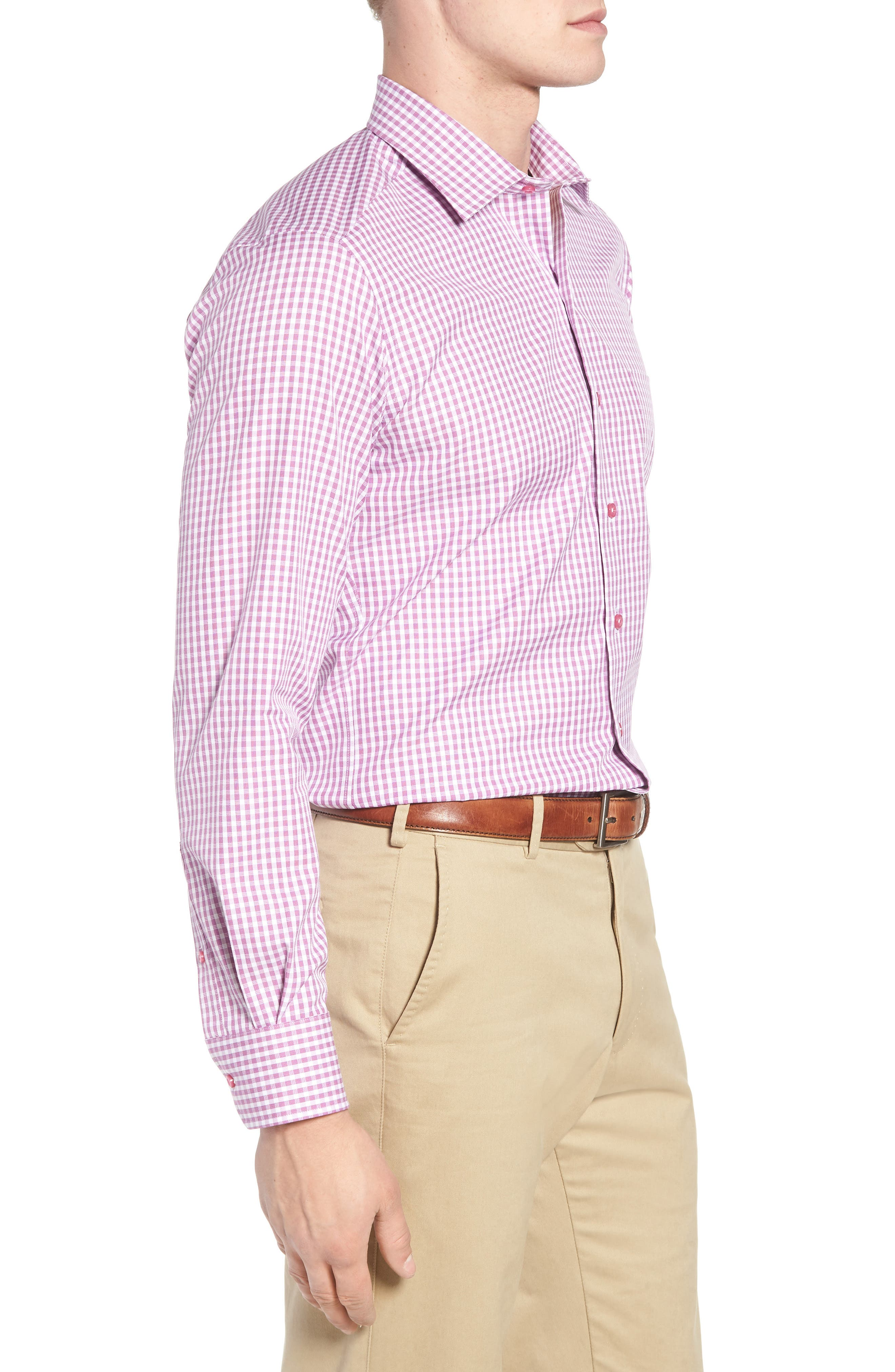 Sport Shirt,                             Alternate thumbnail 3, color,                             Purple
