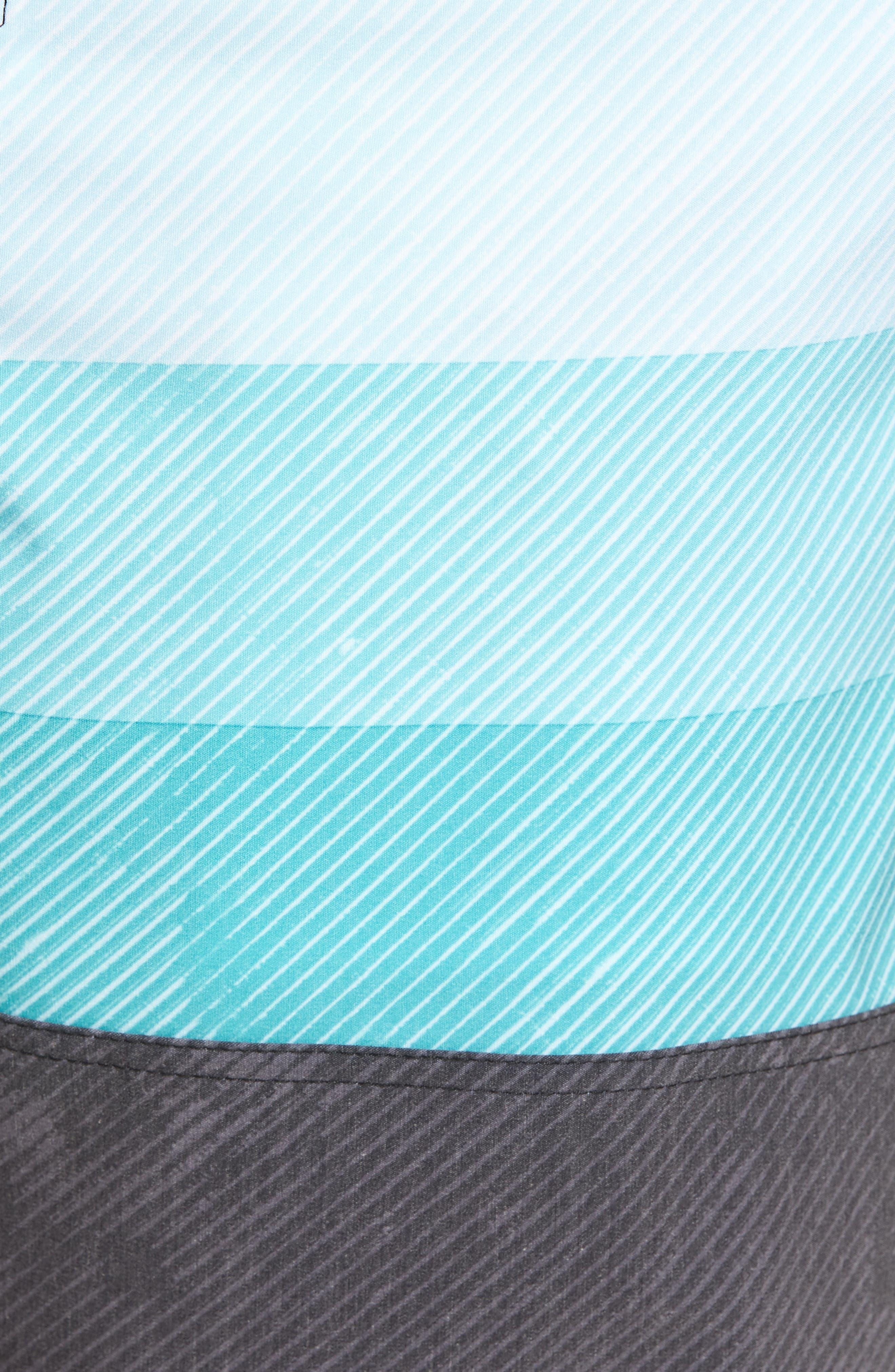 Region Cruzer Board Shorts,                             Alternate thumbnail 5, color,                             Black