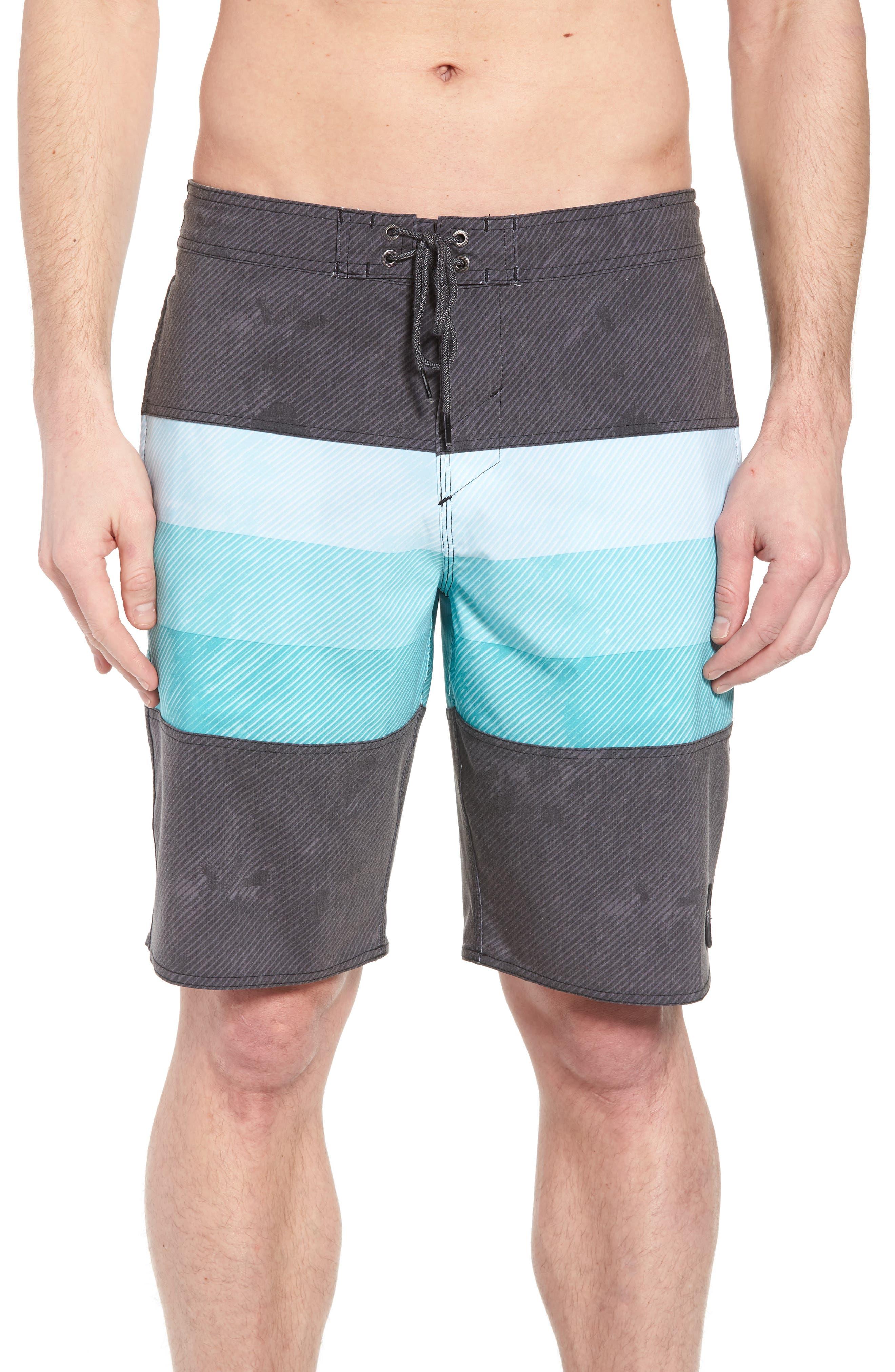 Region Cruzer Board Shorts,                             Main thumbnail 1, color,                             Black