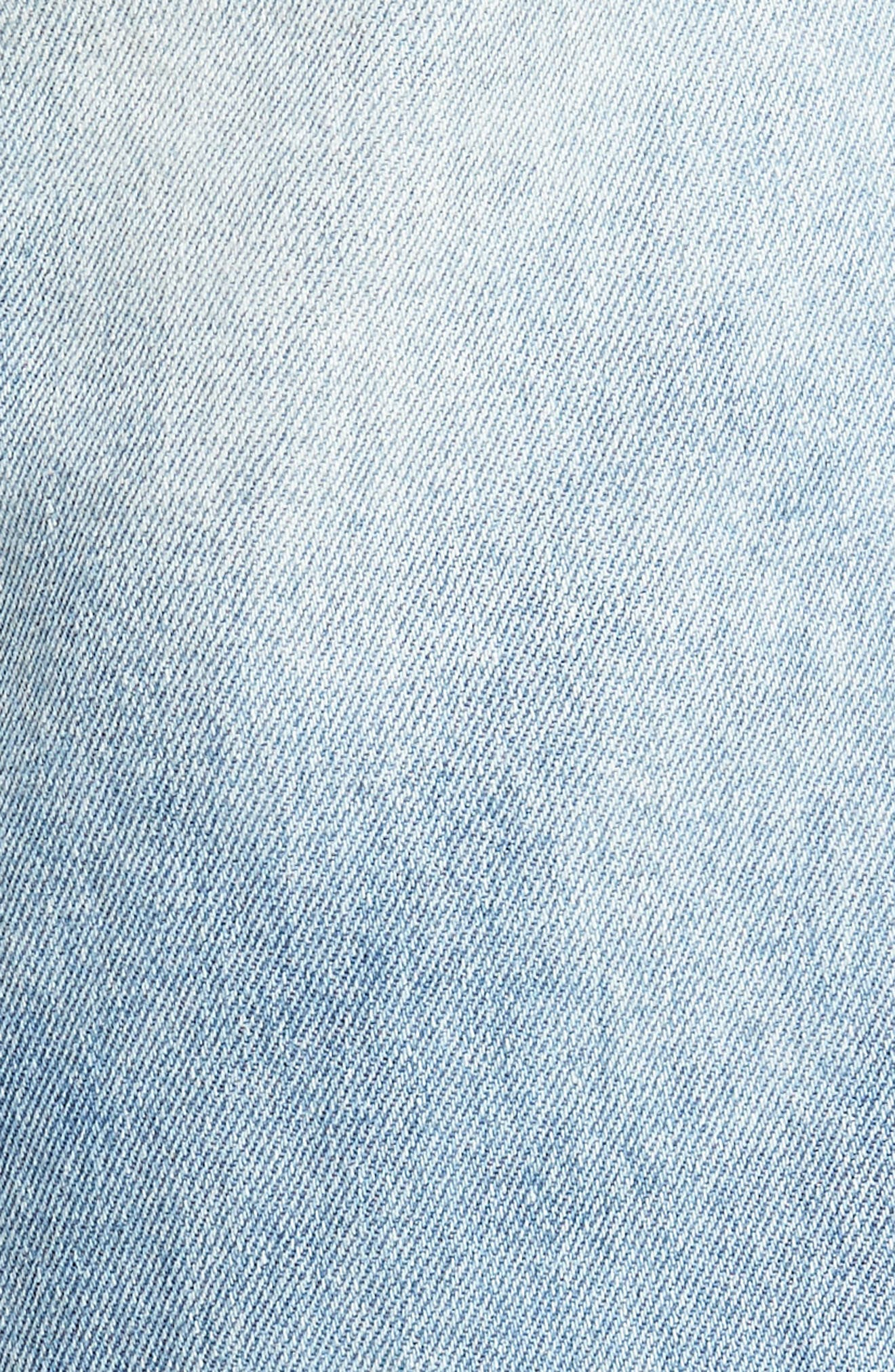 Le Sabre Slim Fit Jeans,                             Alternate thumbnail 5, color,                             Tenderness