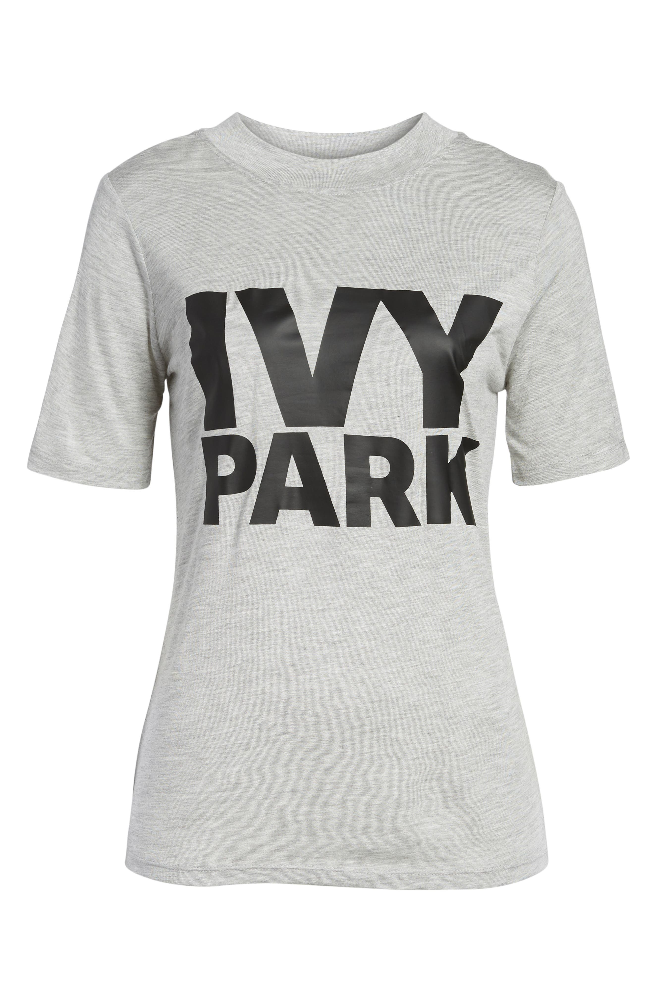 Programme Fitted Logo Tee,                             Alternate thumbnail 7, color,                             Light Grey Marl