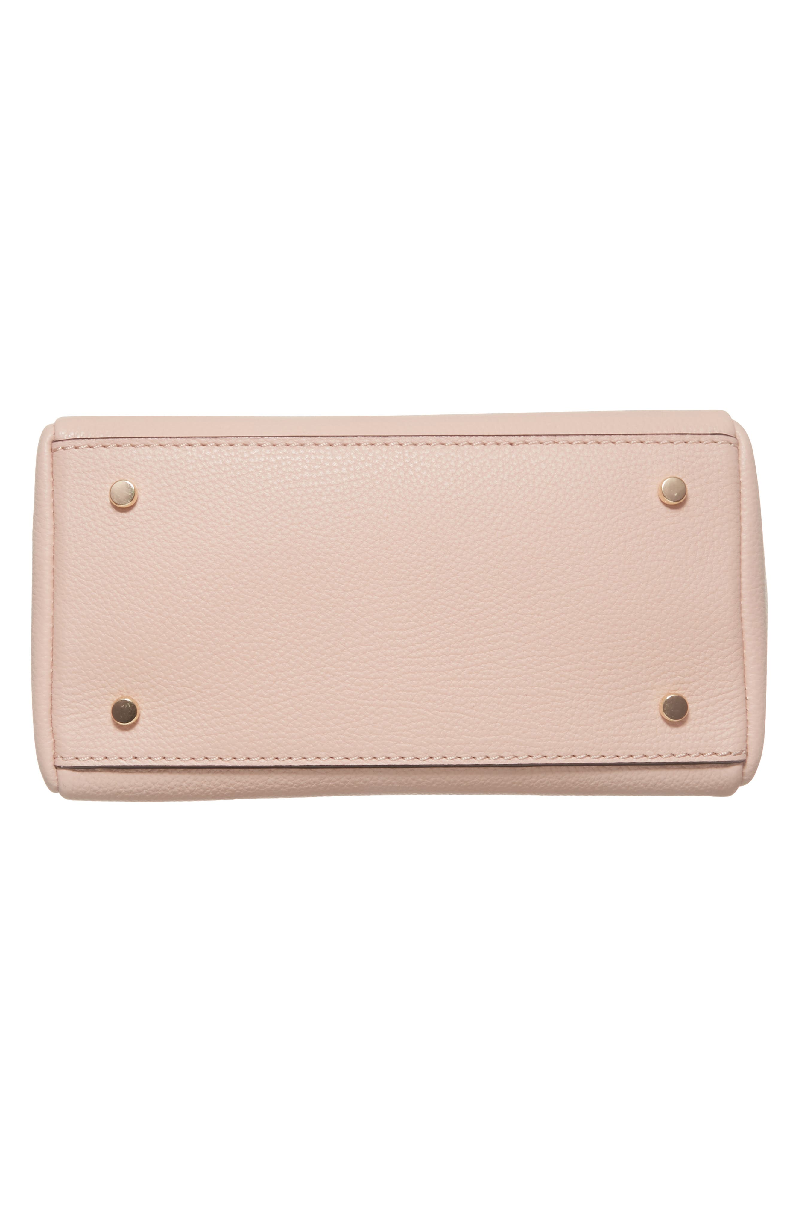 kingston drive - small alena leather satchel,                             Alternate thumbnail 6, color,                             Warm Vellum