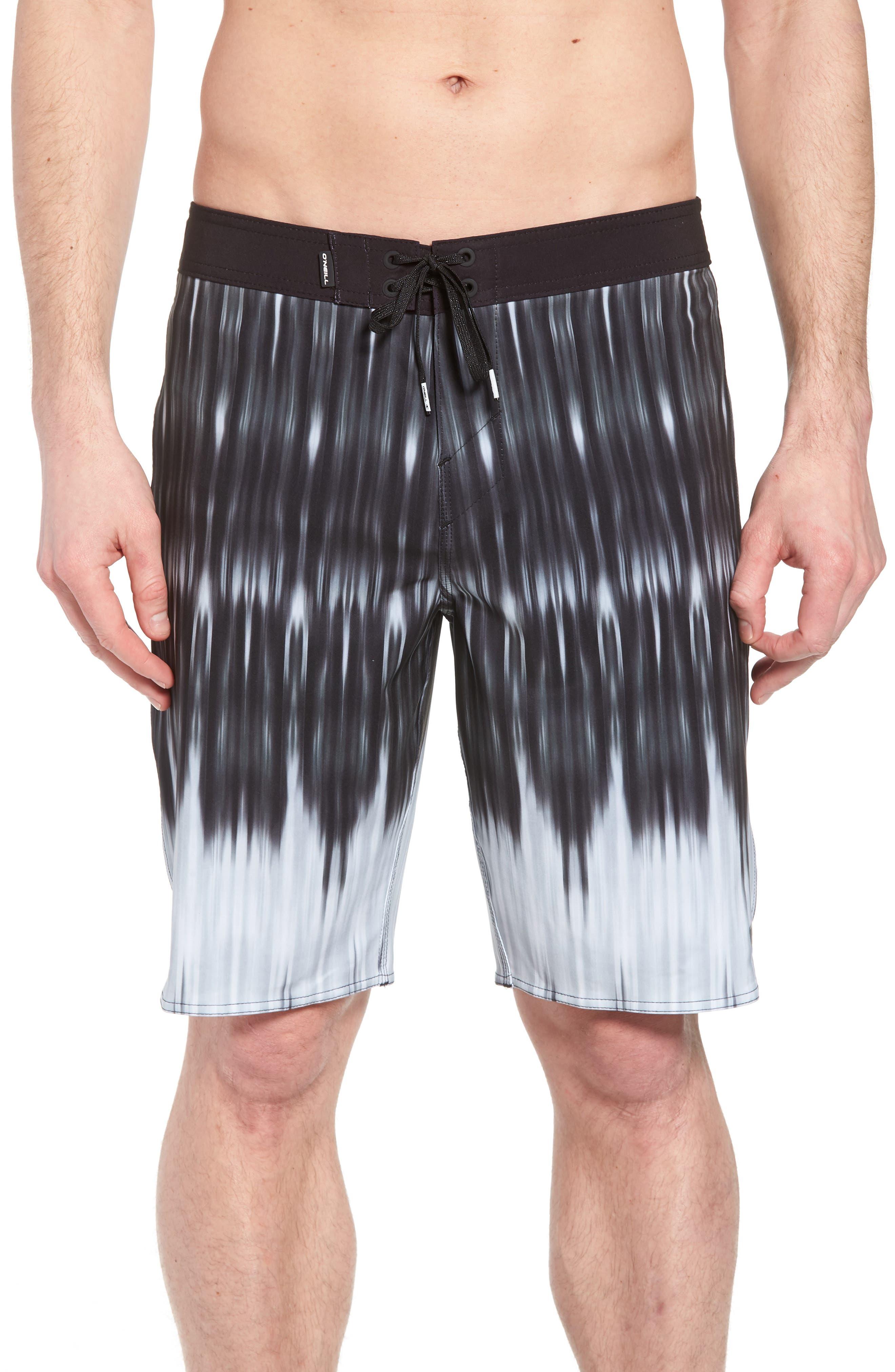 Superfreak Dimension Board Shorts,                             Main thumbnail 1, color,                             Black