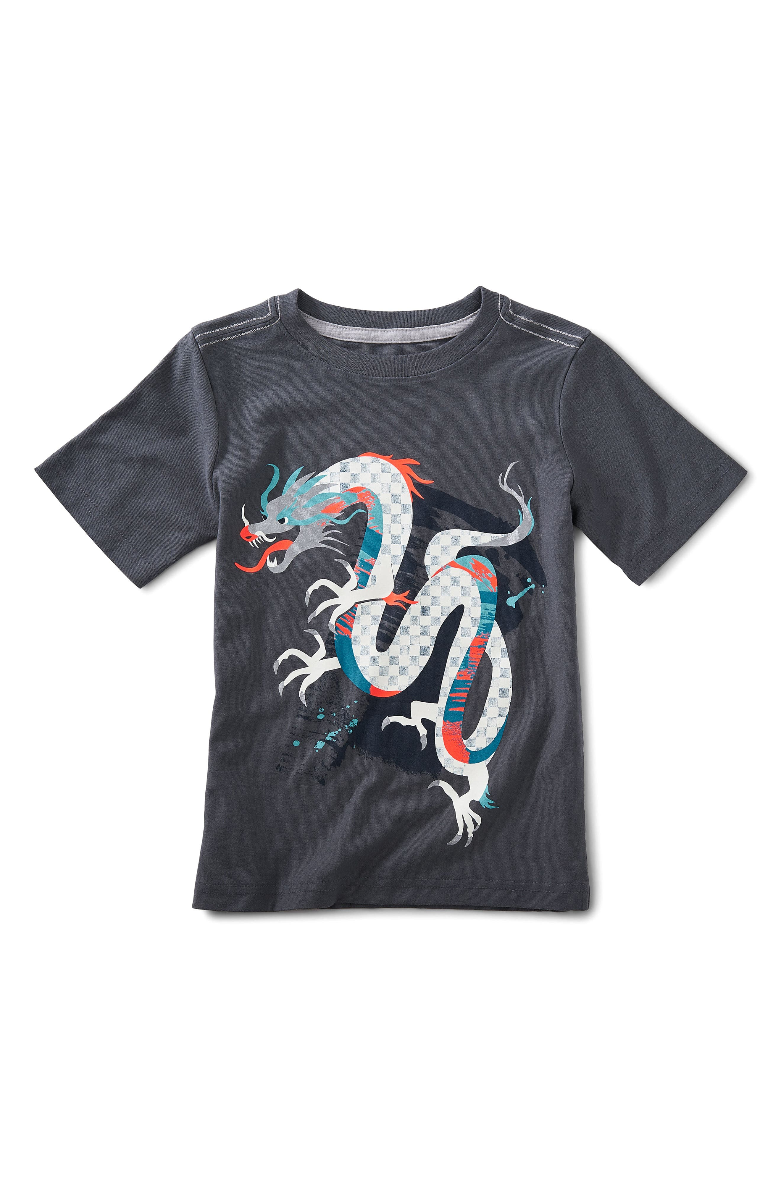 Tea Collection Chinese Dragon Graphic T-Shirt (Toddler Boys, Little Boys & Big Boys)