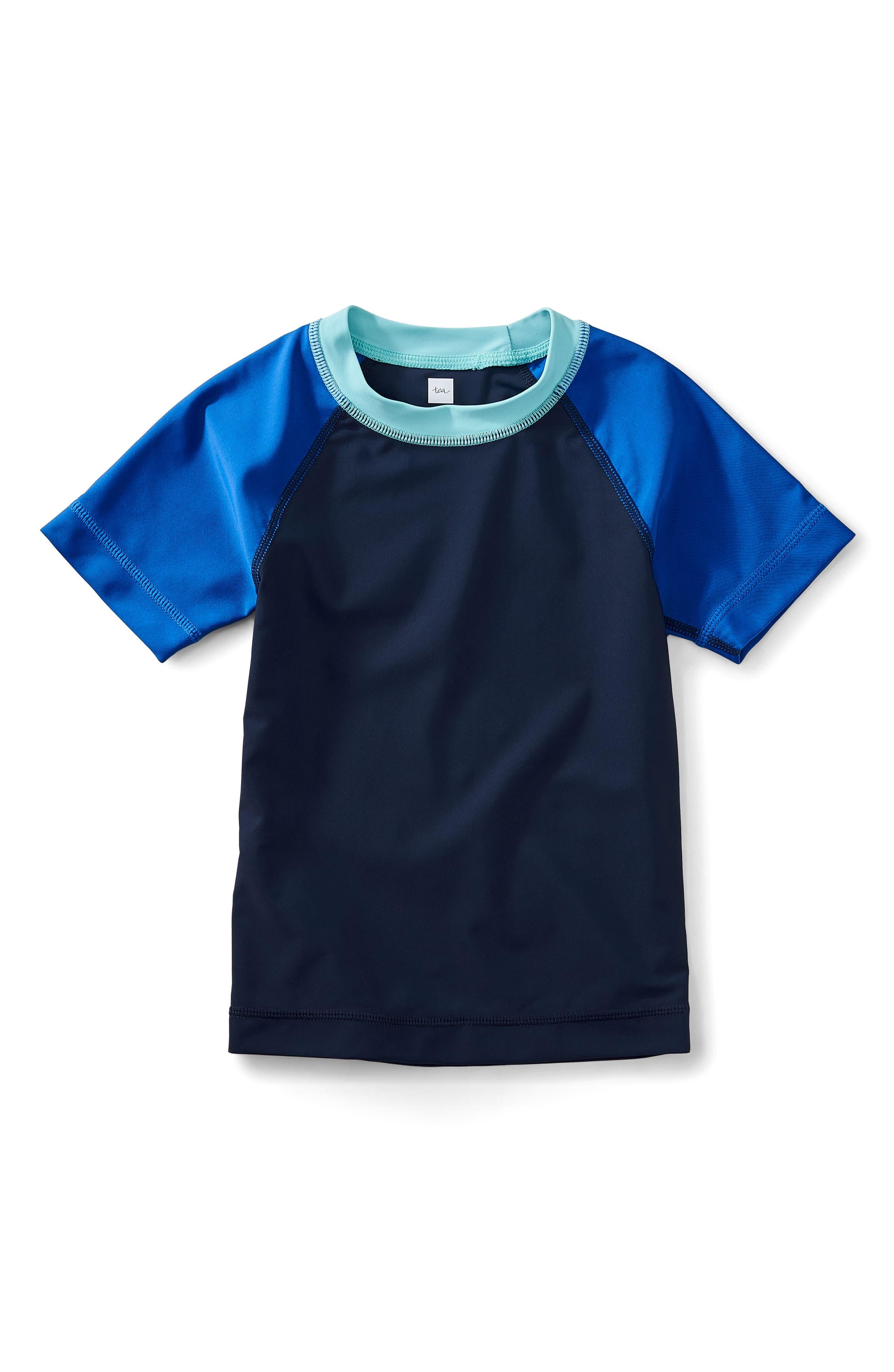 Rashguard Top,                         Main,                         color, Indigo