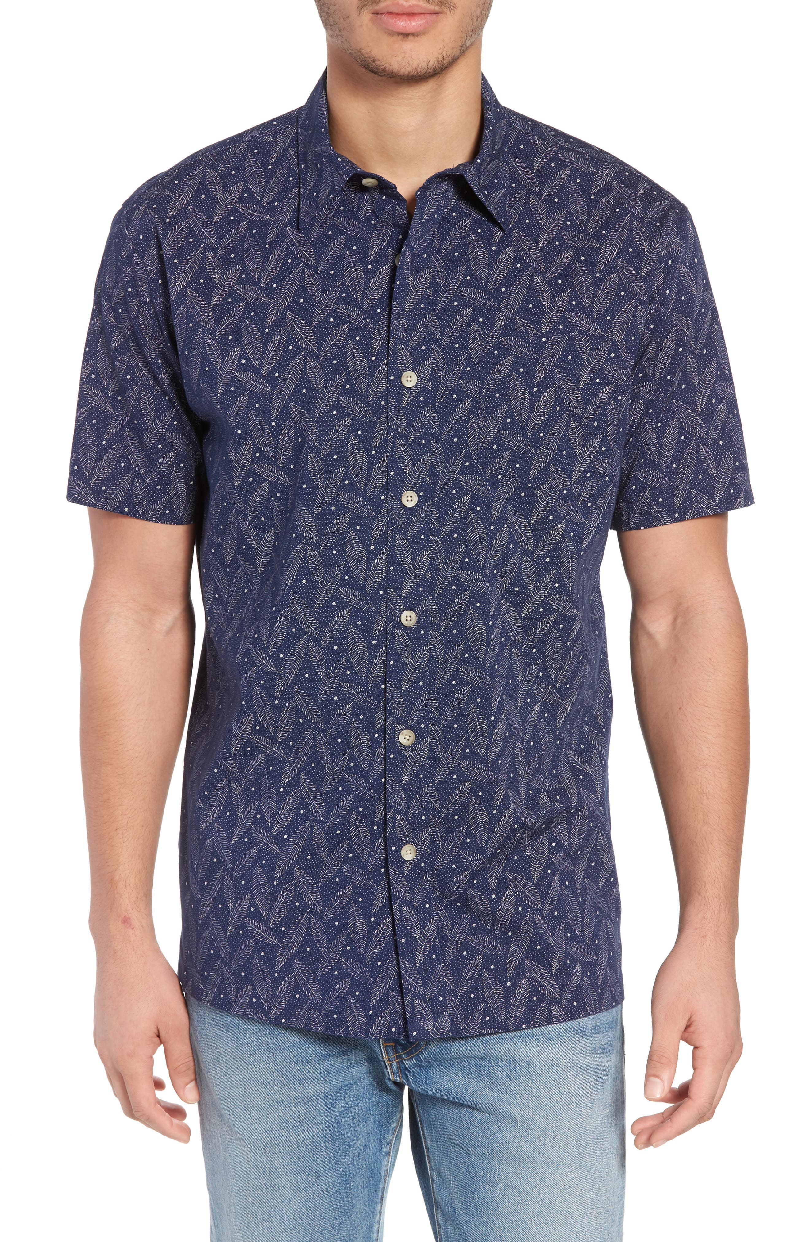 PENDLETON REGULAR FIT PRINT SHORT SLEEVE SPORT SHIRT