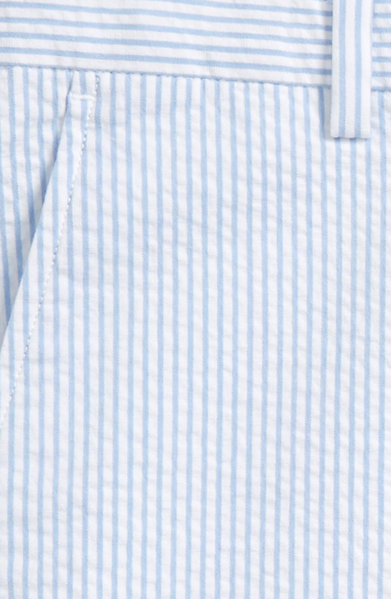 Seersucker Stripe Breaker Shorts,                             Alternate thumbnail 2, color,                             Ocean Breeze