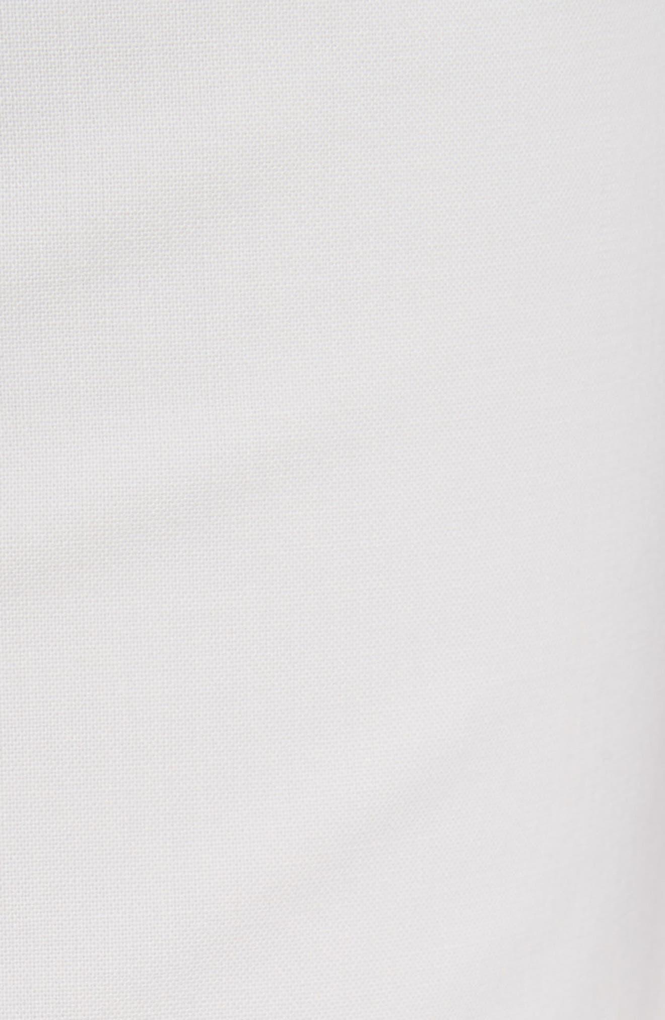 Demitria Polished Wool Pants,                             Alternate thumbnail 5, color,                             White