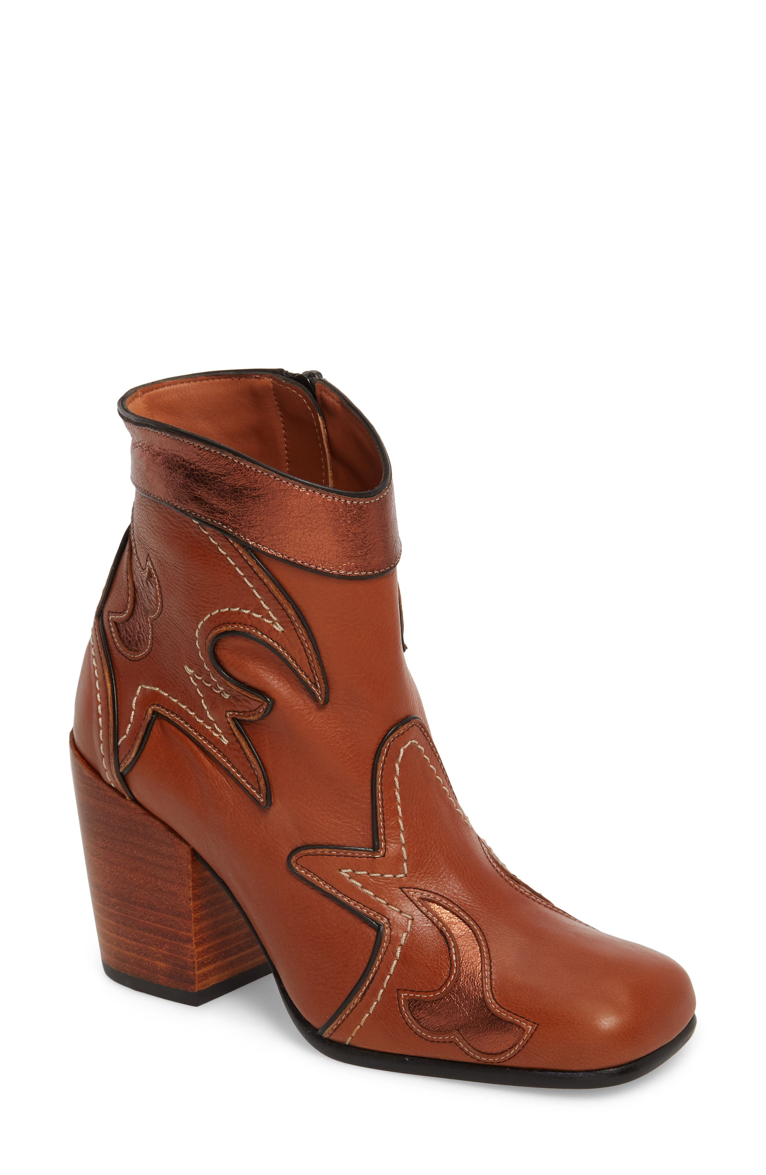 Womens Boots chestnut suede chestnut coach jessie silky nappa es3y71d4