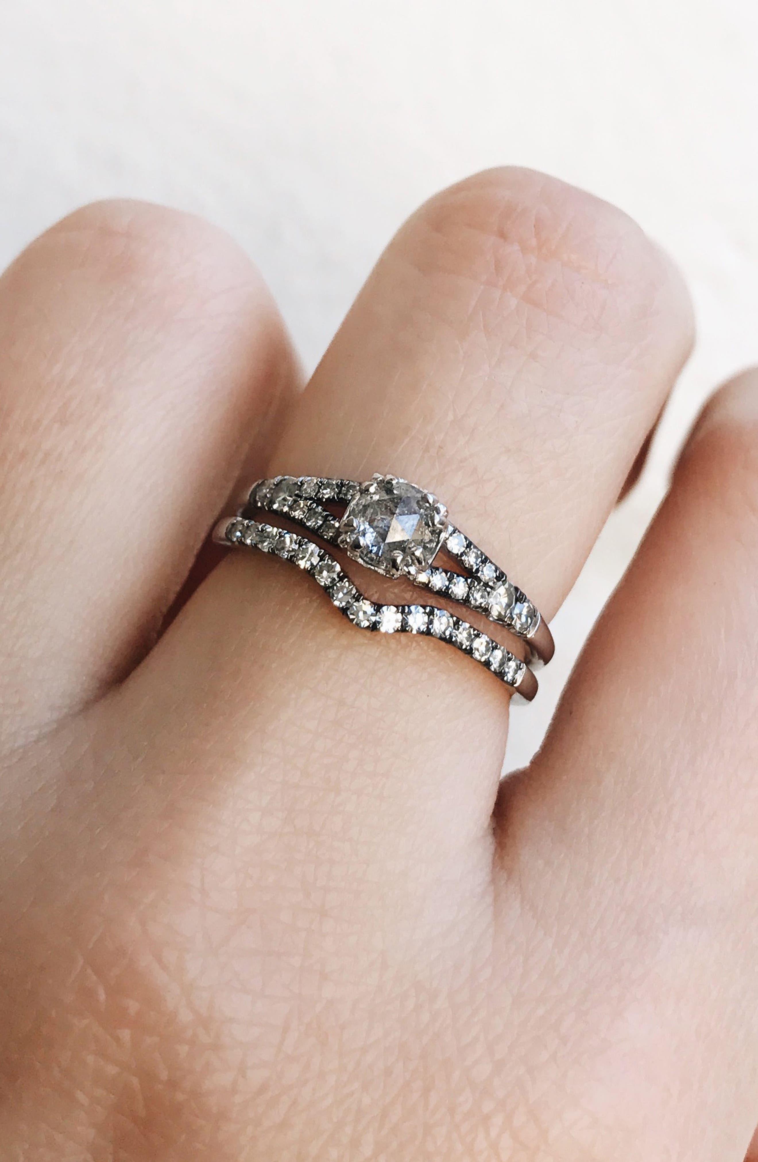 Alternate Image 2  - Maniamania Devotion Solitaire Diamond Ring