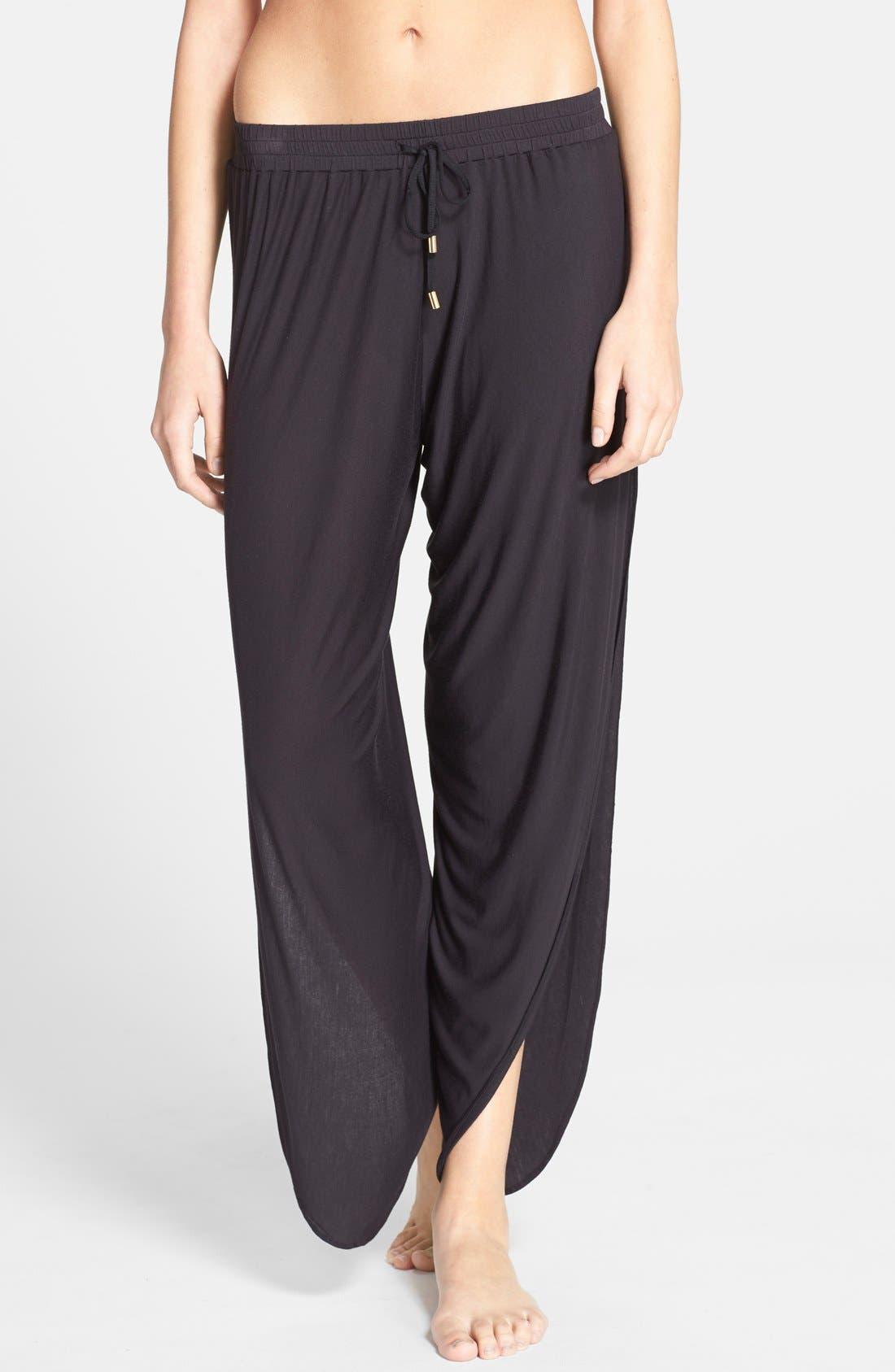 Cover-Up Pants,                         Main,                         color, Black