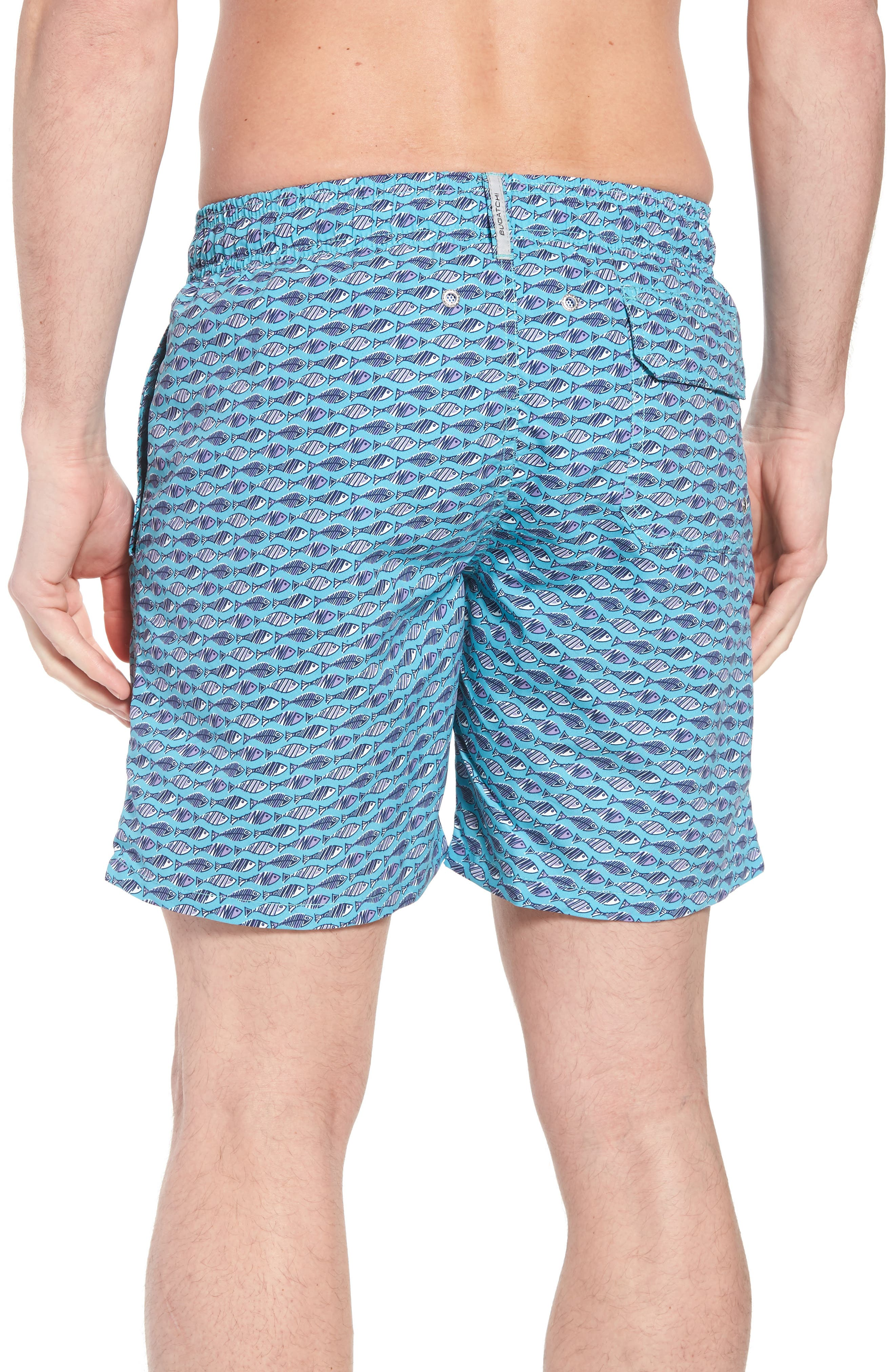Swim Trunks,                             Alternate thumbnail 2, color,                             Turquoise