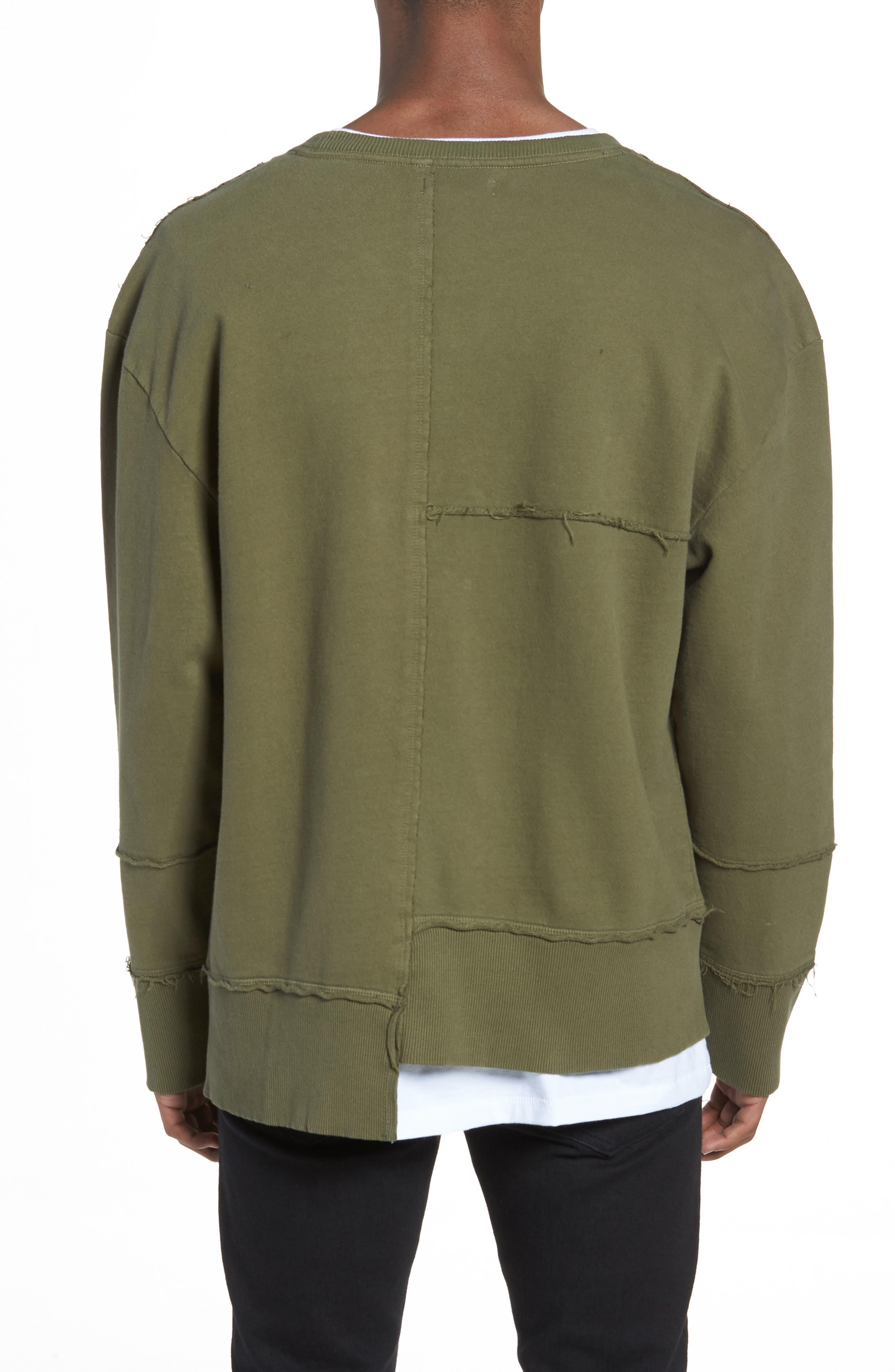 Alternate Image 2  - The Rail Splice Sweatshirt