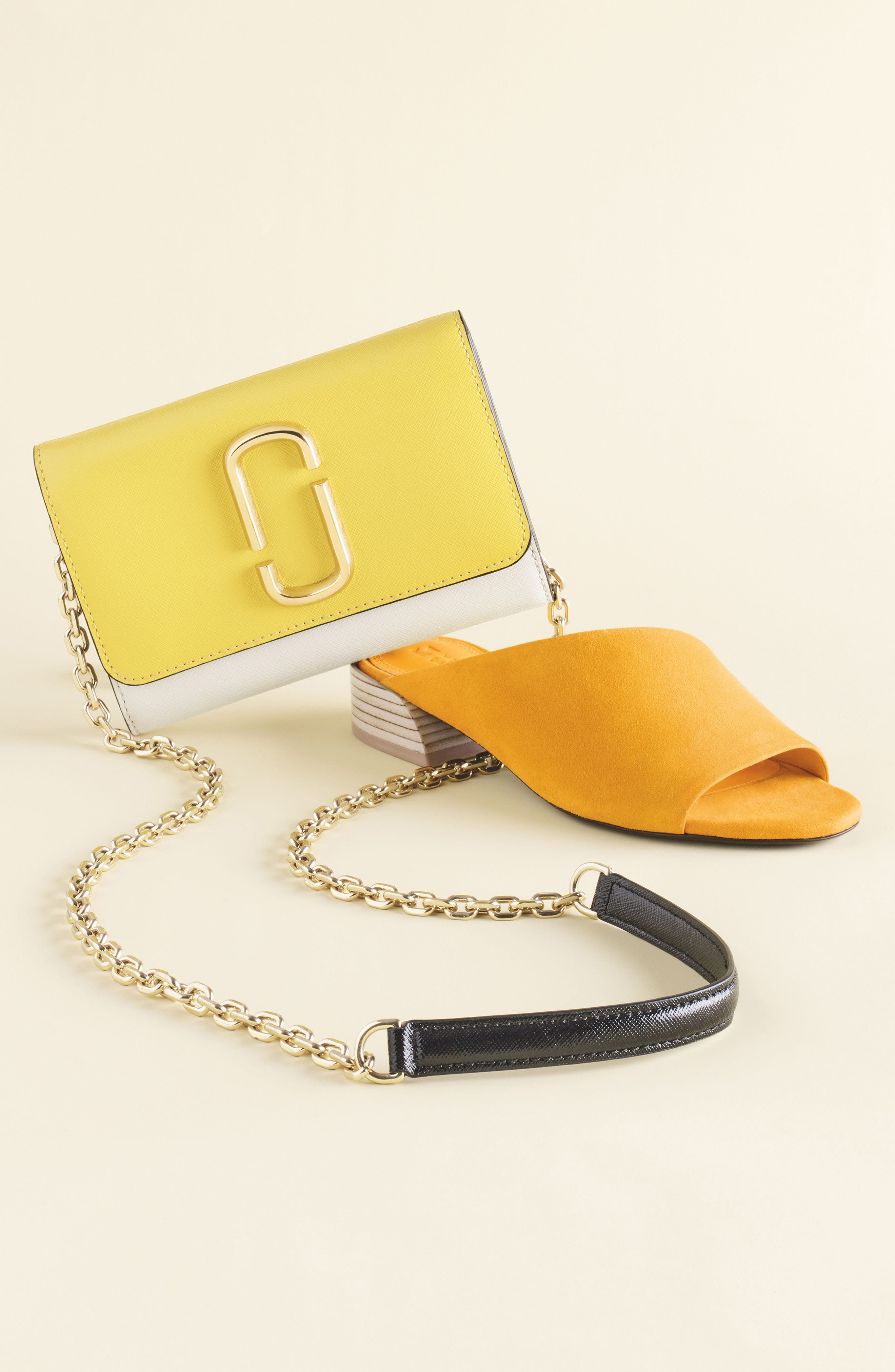 Snapshot Leather Wallet on a Chain,                             Alternate thumbnail 7, color,
