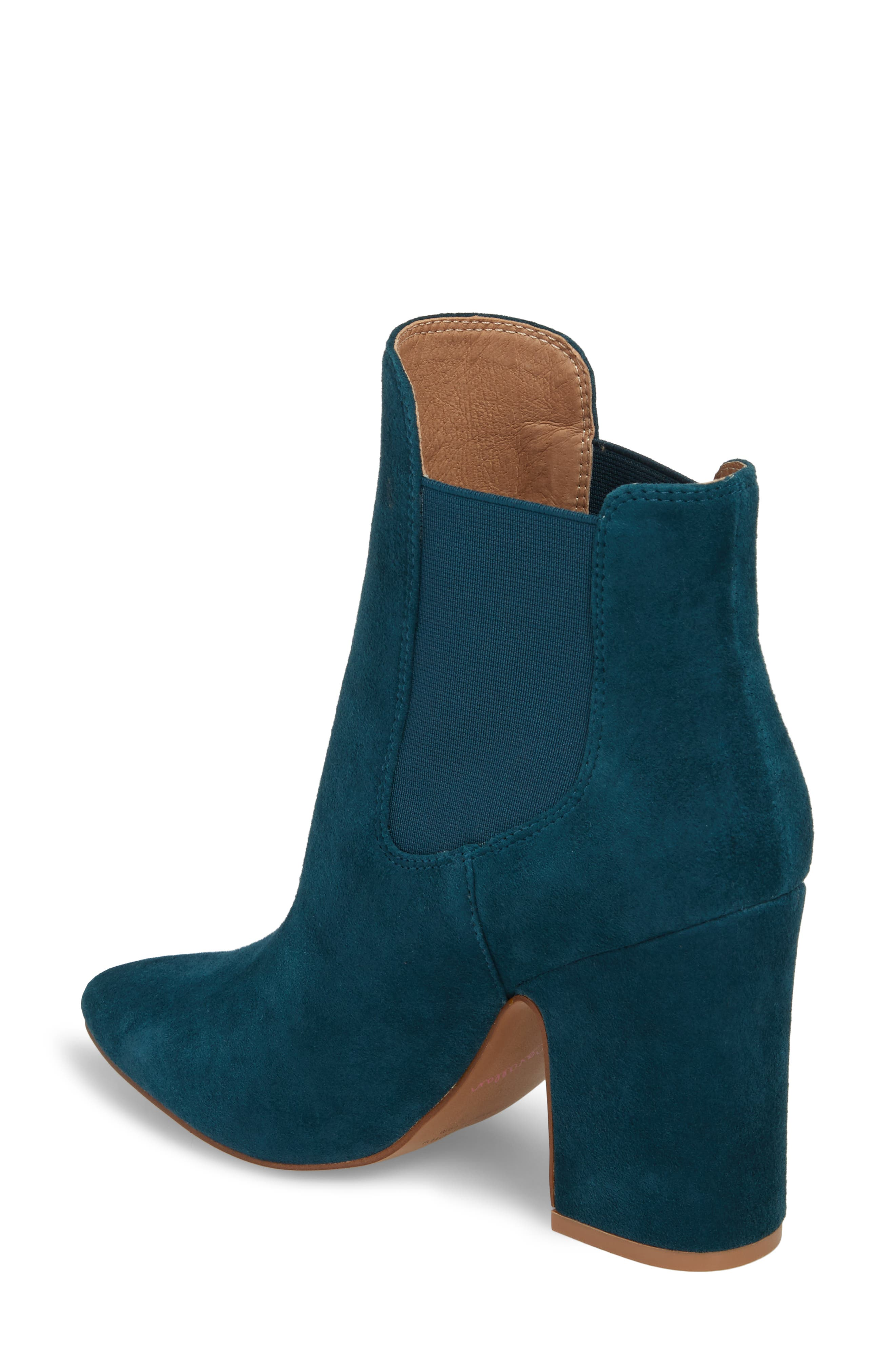 Starlight Bootie,                             Alternate thumbnail 2, color,                             Teal Suede