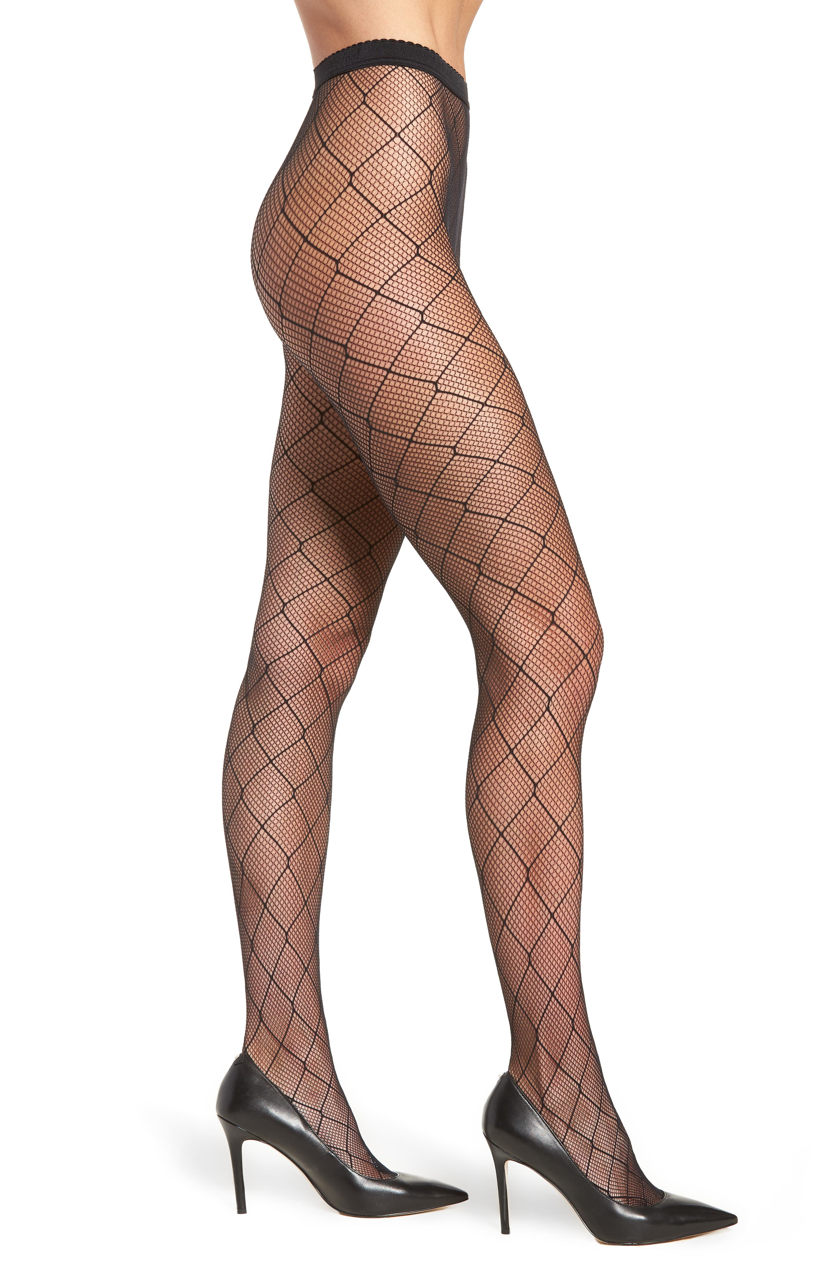 Chrissie Tights,                         Main,                         color, Black