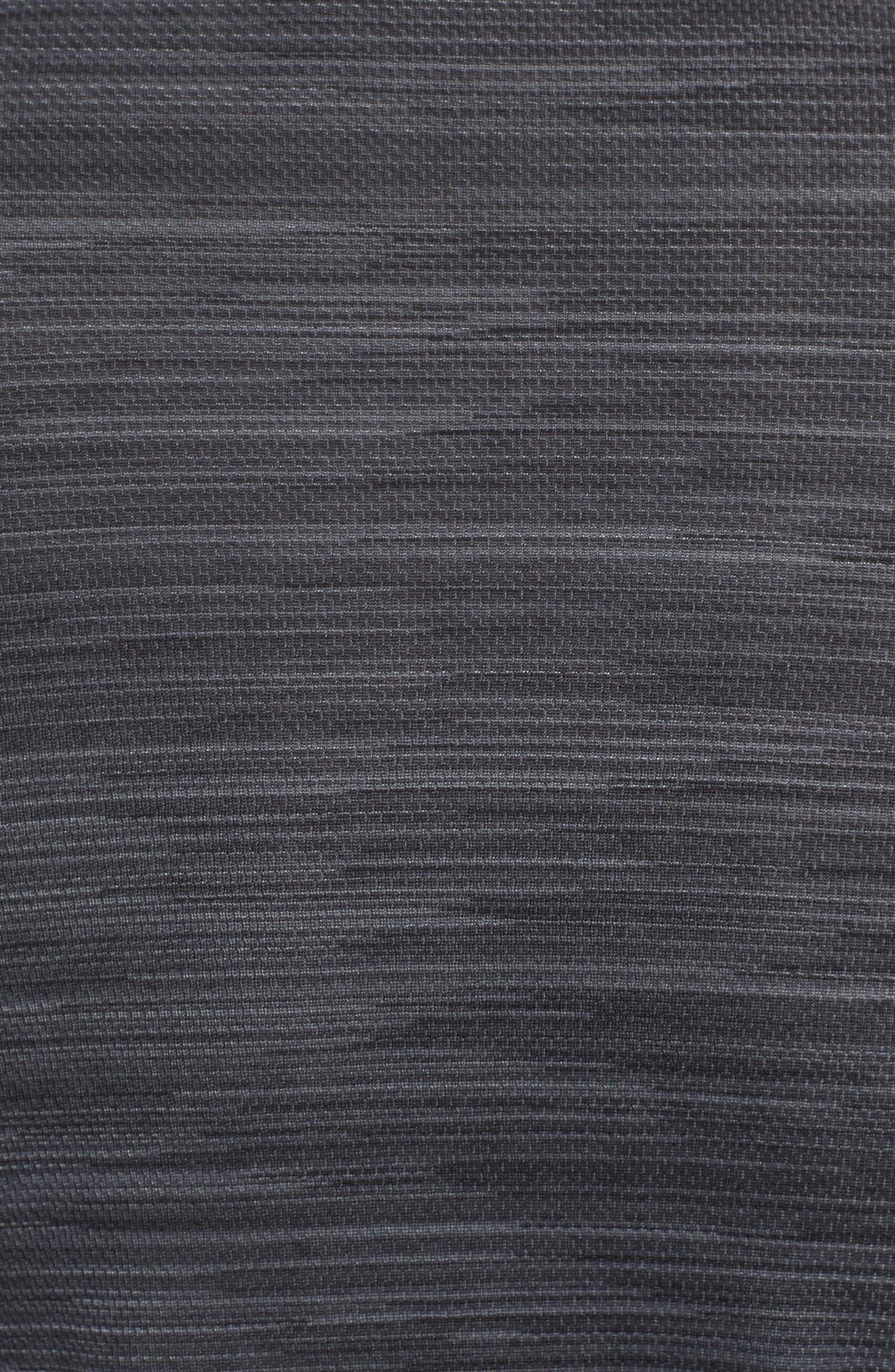 Ultimate Tech Quarter Zip Pullover,                             Alternate thumbnail 5, color,                             Carbon