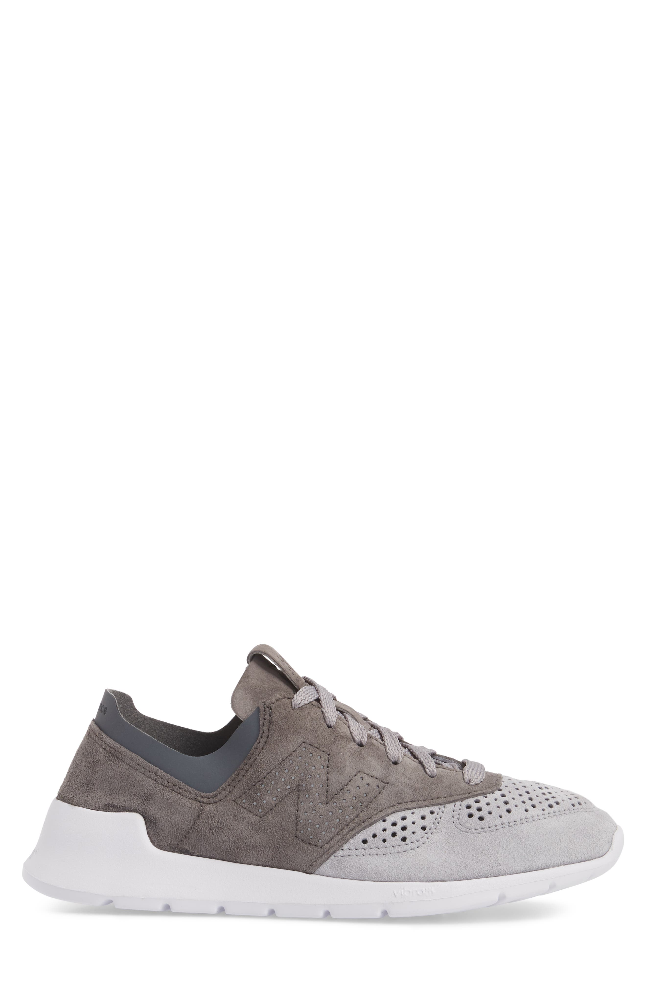 1978 Perforated Sneaker,                             Alternate thumbnail 3, color,                             Grey