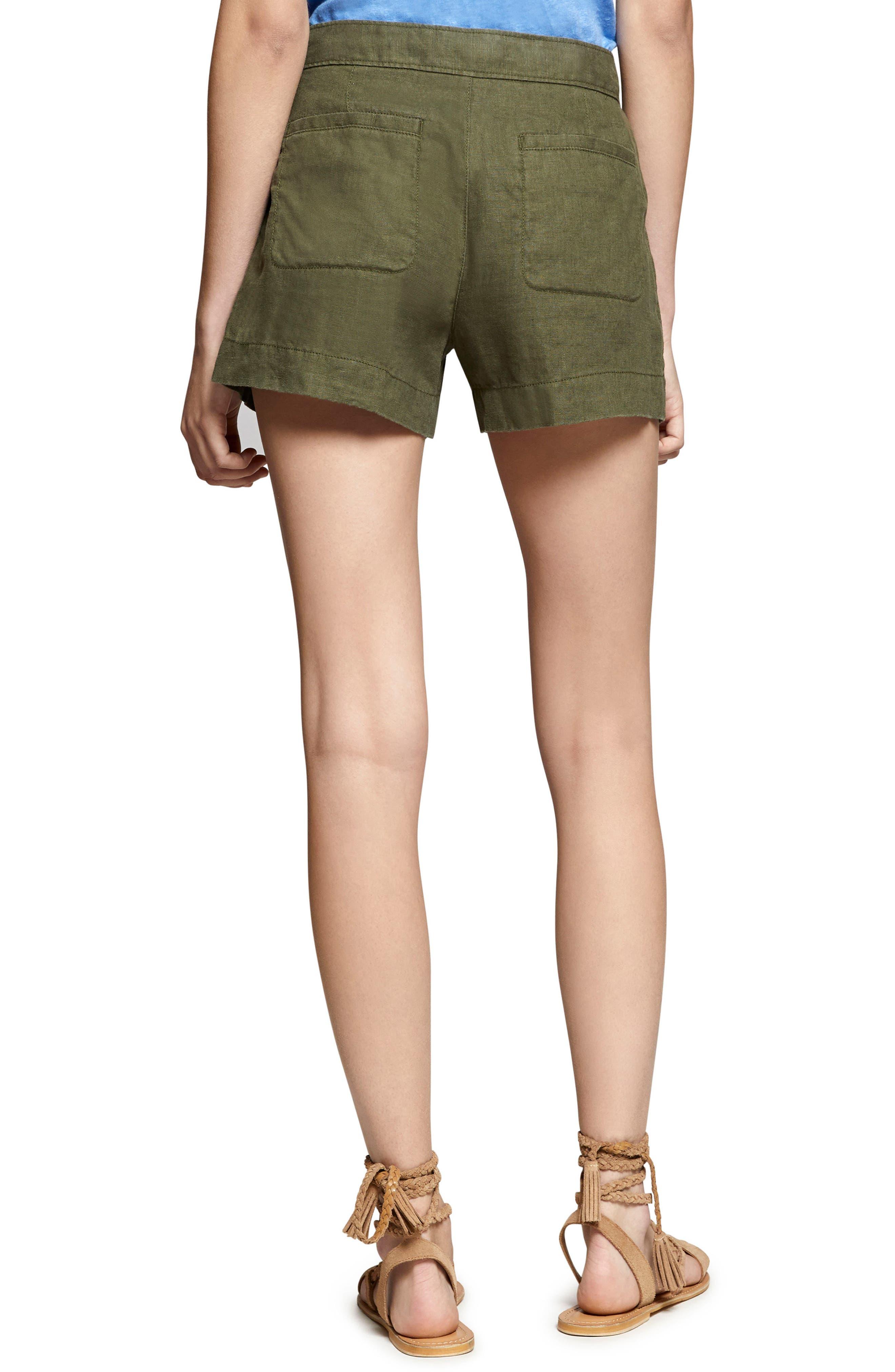 Alternate Image 2  - Sanctuary Sasha Linen Utility Shorts