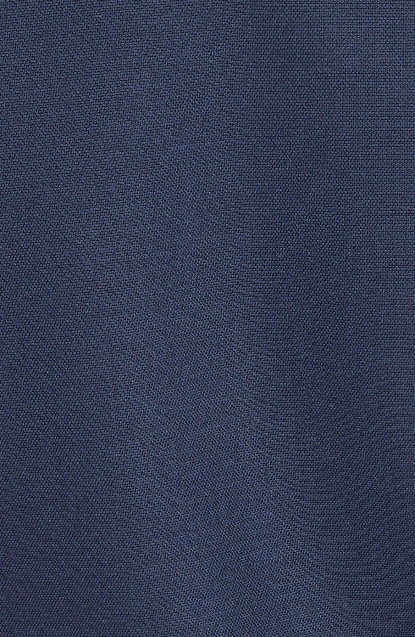 Trinity Stretch Wool Blazer,                             Alternate thumbnail 5, color,                             Navy