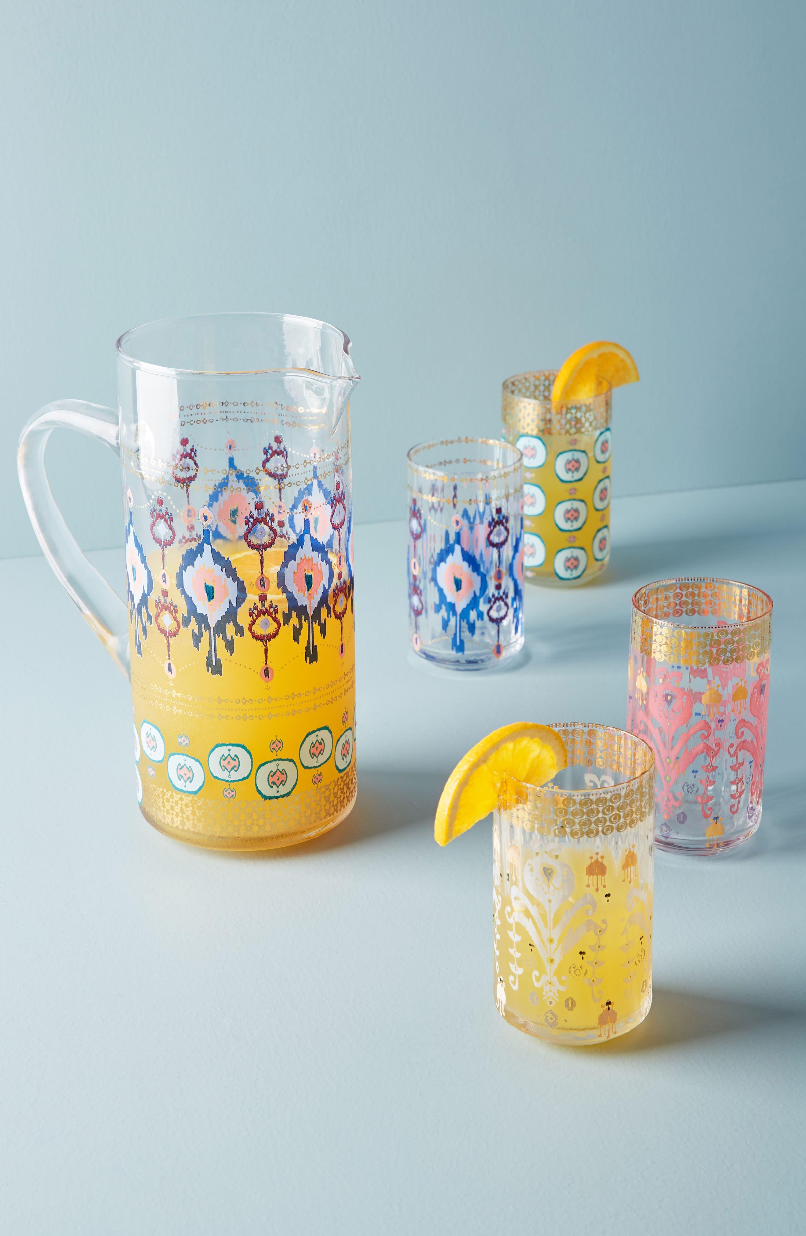 Halden Juice Glass,                             Alternate thumbnail 2, color,                             Blue