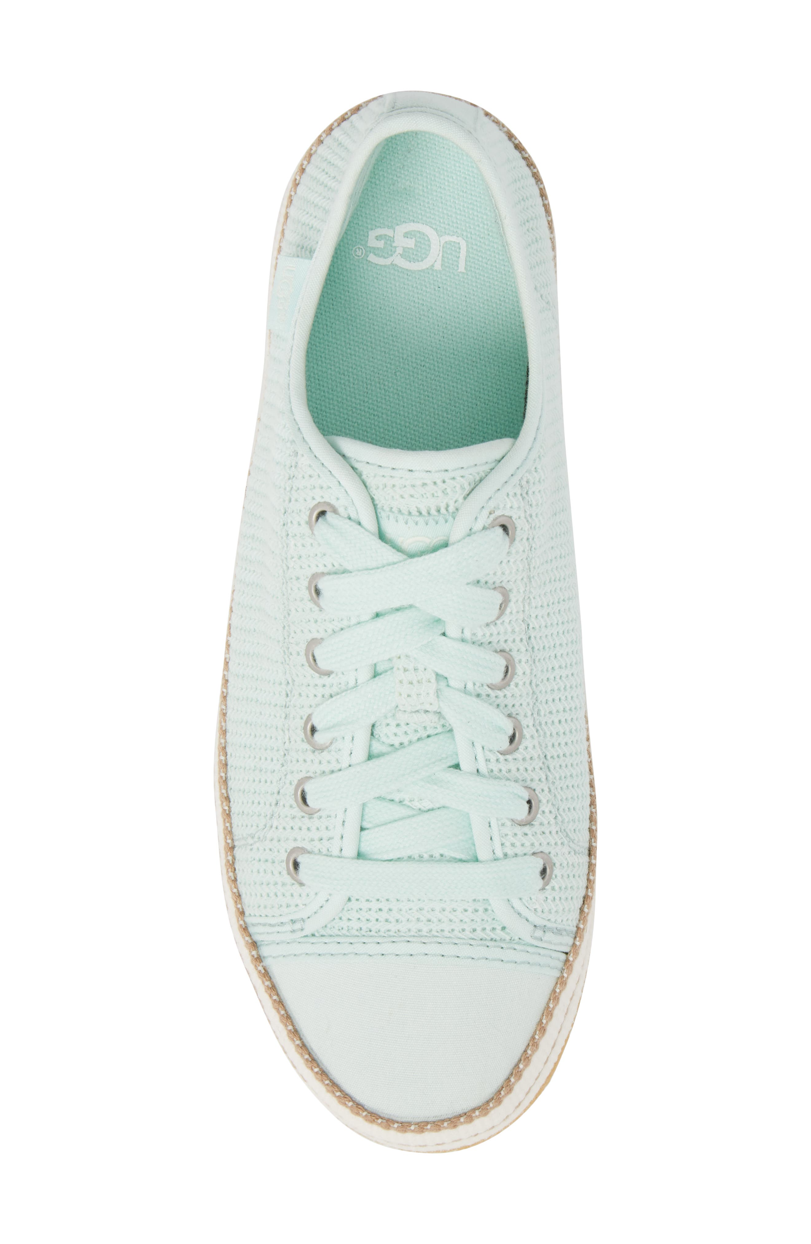 Claudi Sneaker,                             Alternate thumbnail 5, color,                             Aqua
