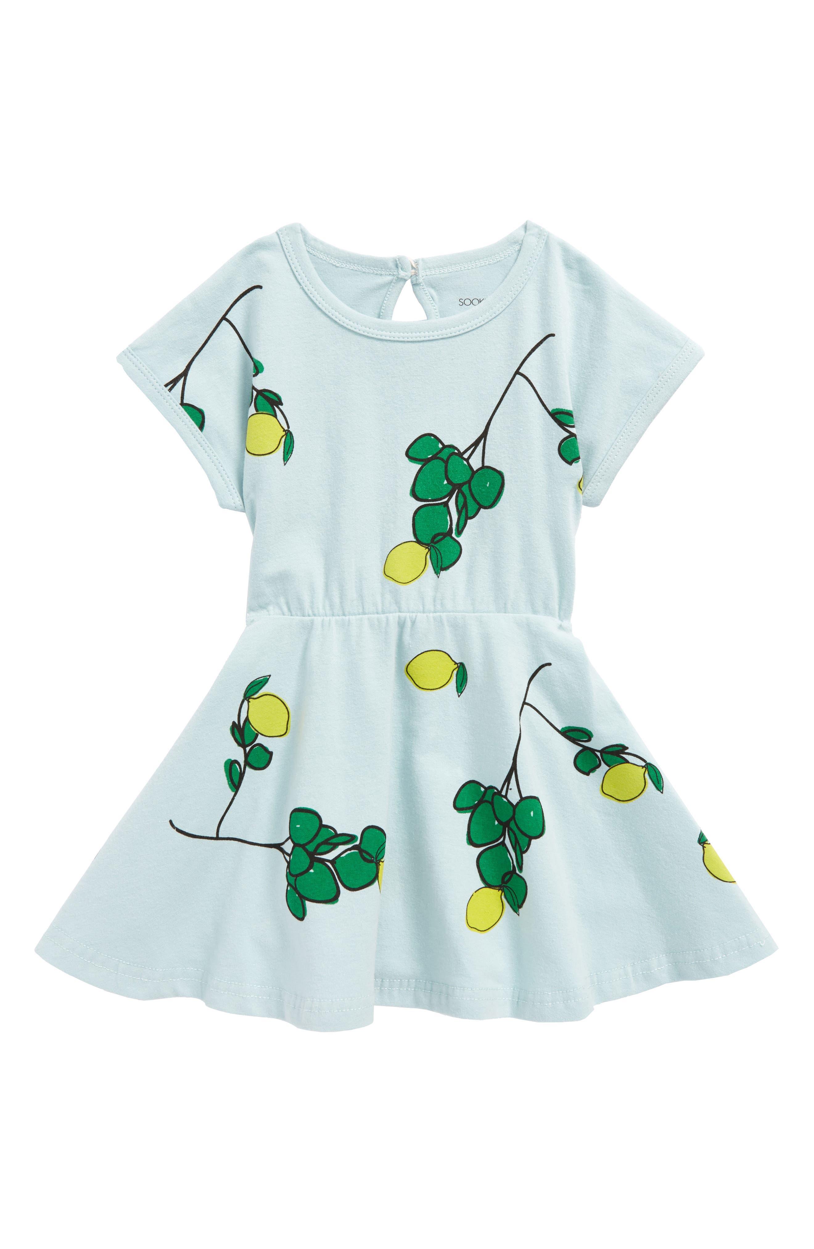 SOOKIbaby Limun Dress (Baby Girls & Toddler Girls)