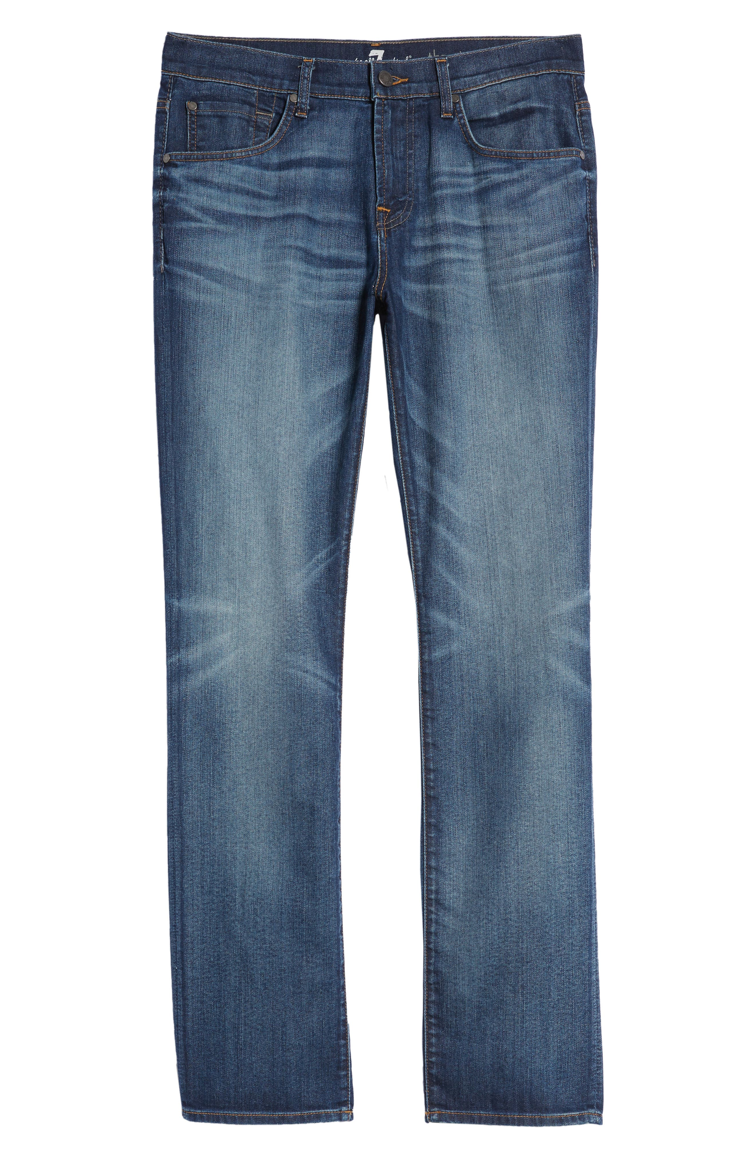 The Straight Slim Straight Leg Jeans,                             Alternate thumbnail 6, color,                             Recon