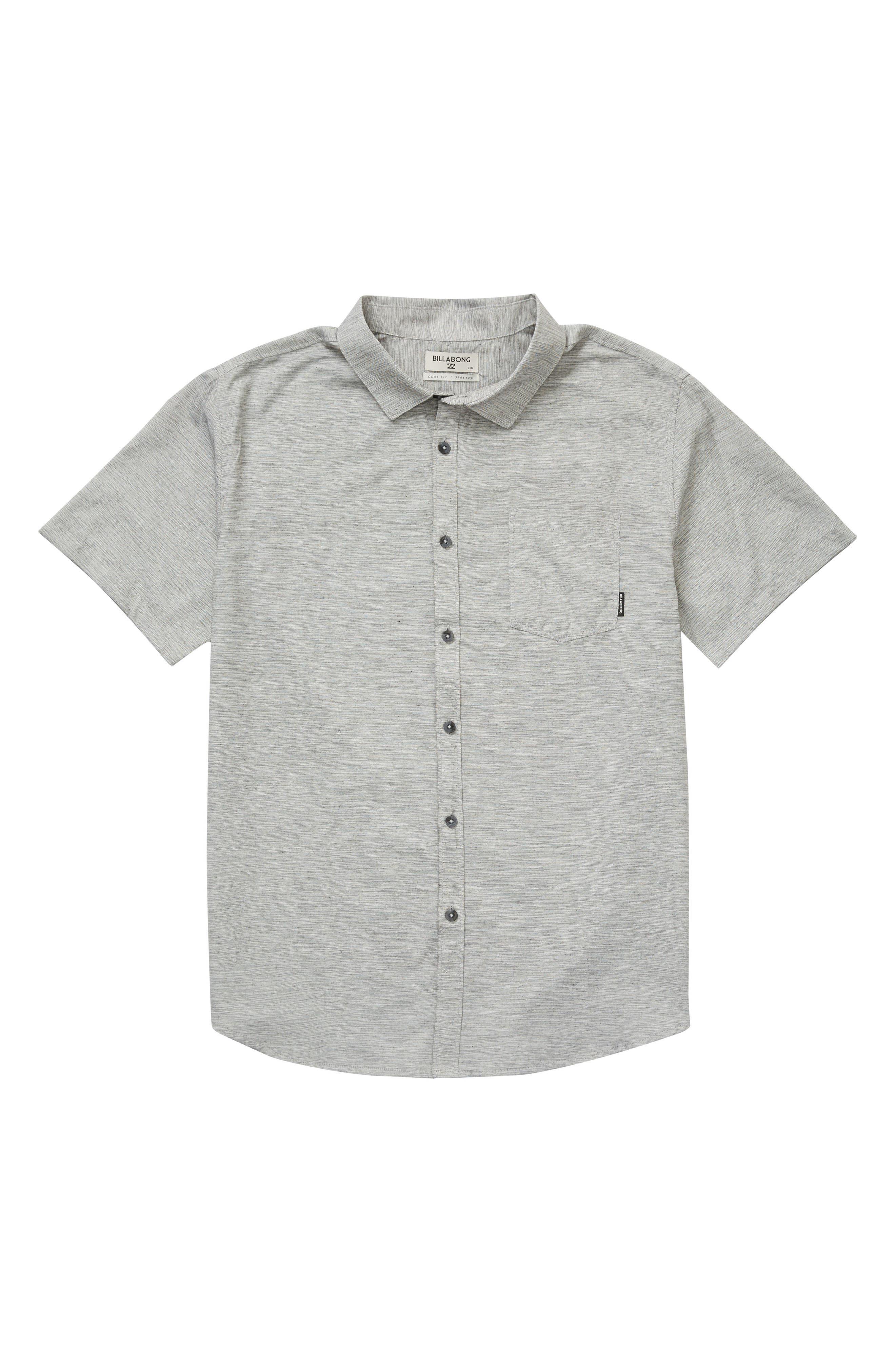 Alternate Image 1 Selected - Billabong All Day Helix Woven Shirt (Big Boys)