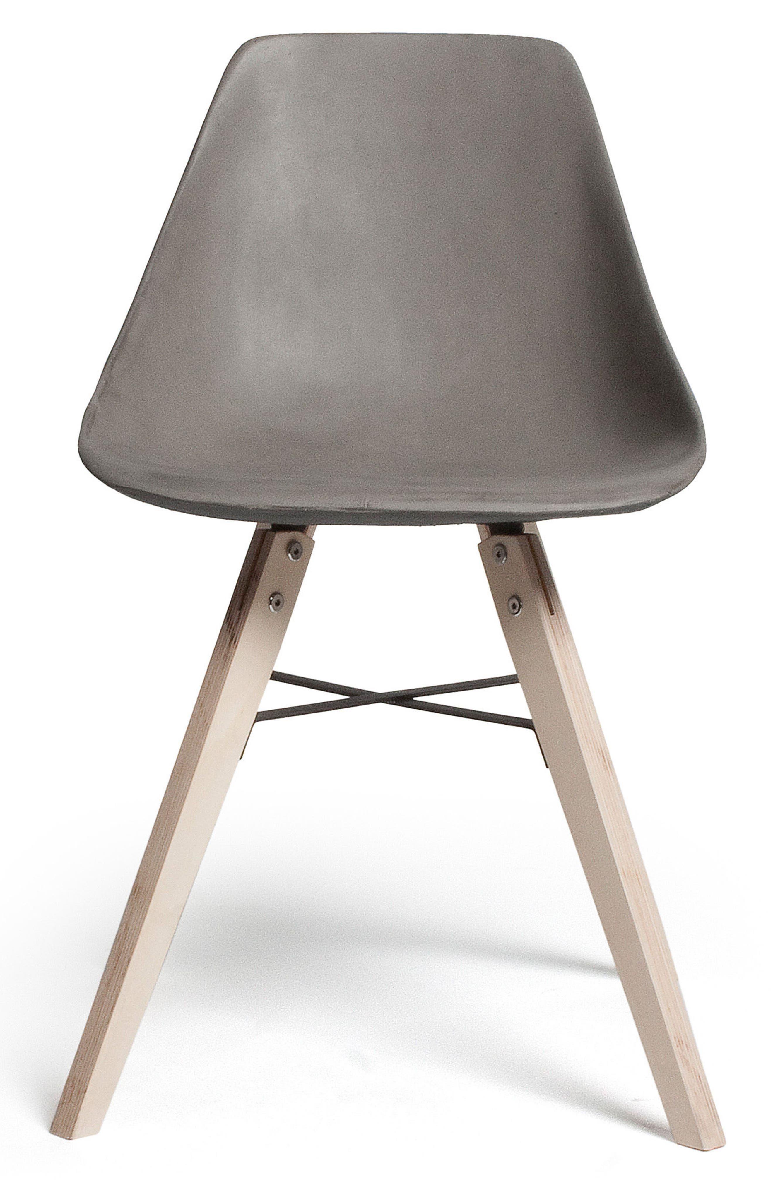 Lyon Béton Hauteville Chair,                         Main,                         color, Cement