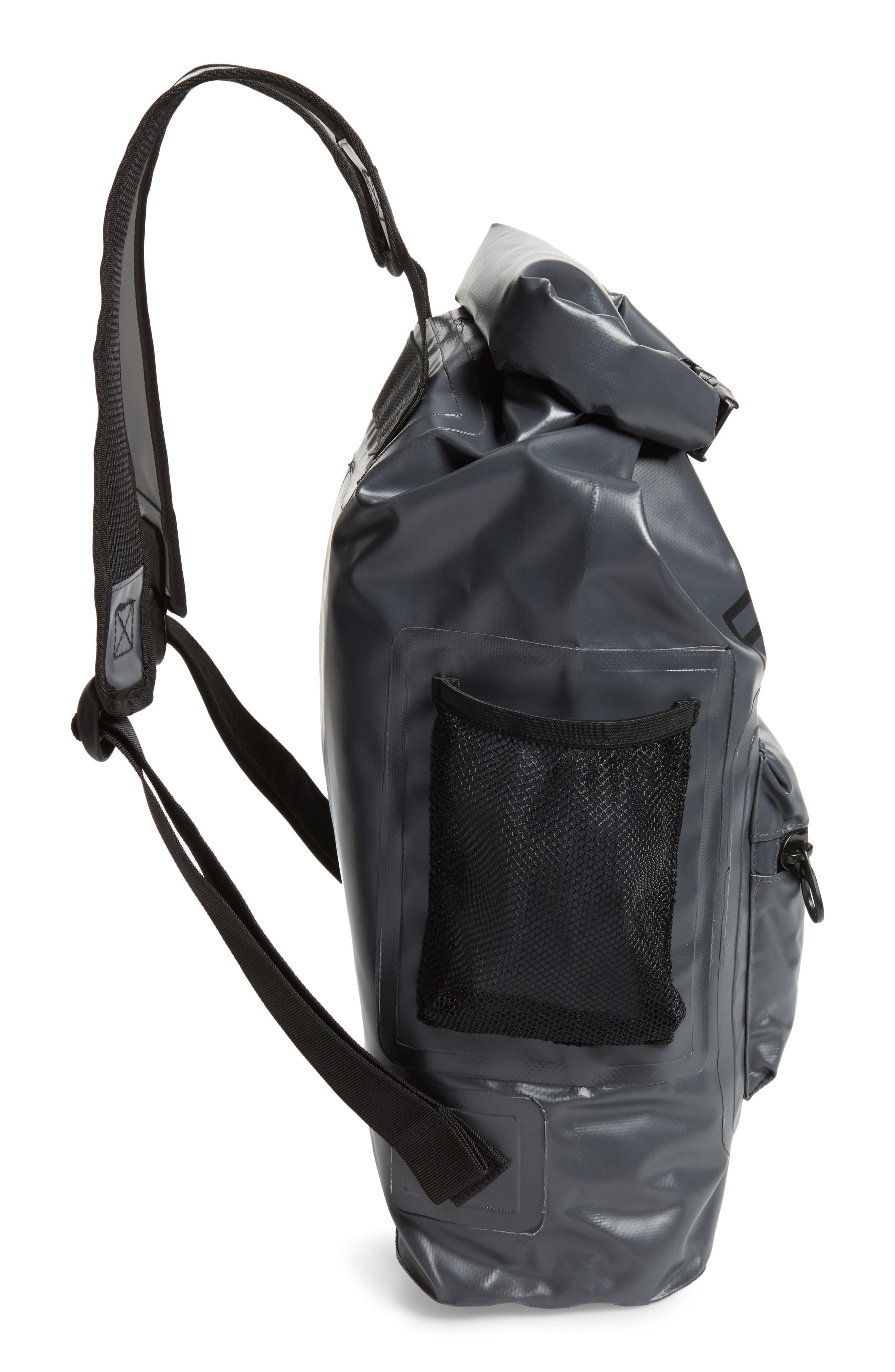 Go Be II Waterproof Backpack,                             Alternate thumbnail 5, color,                             Charcoal