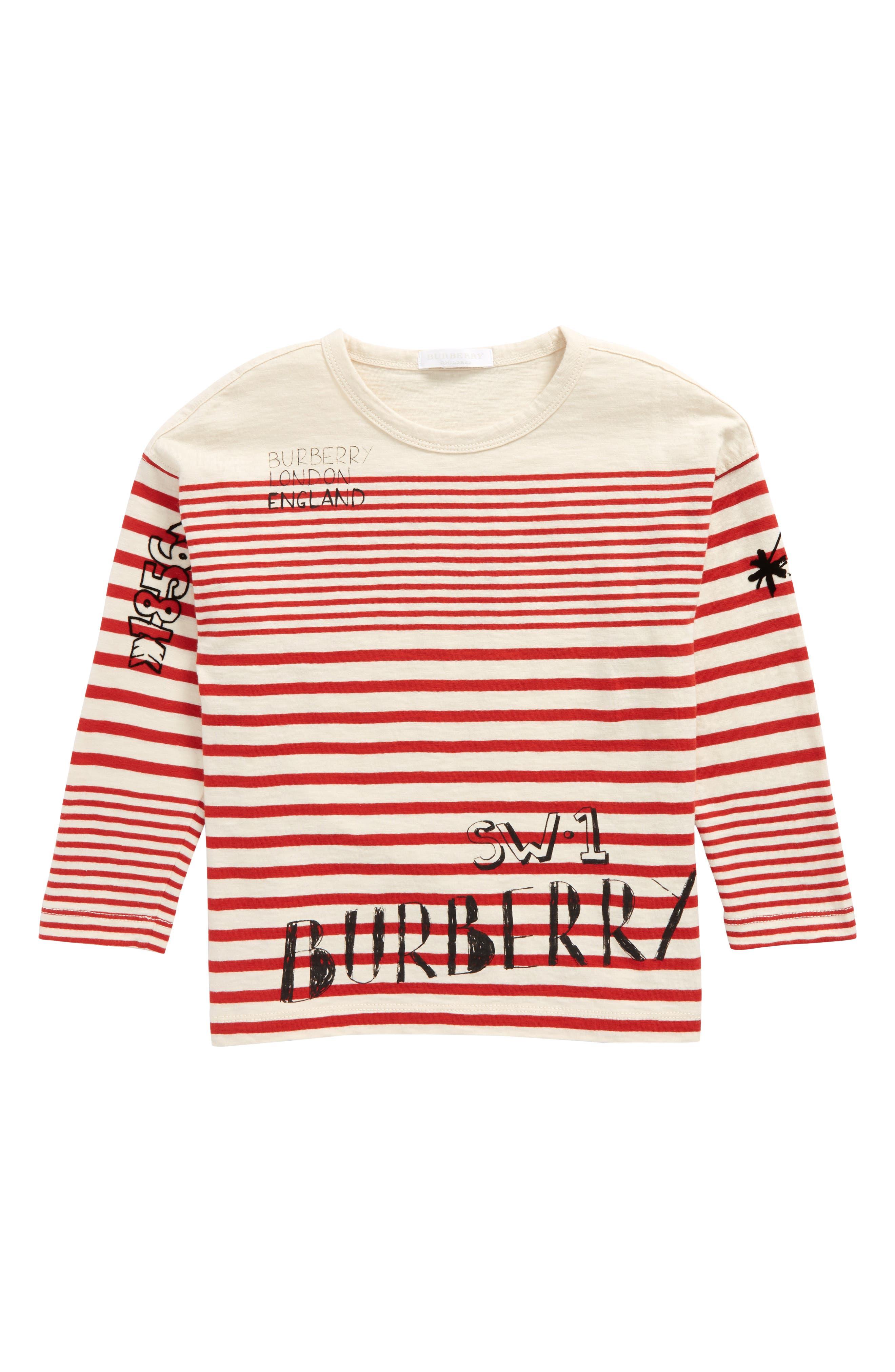 Burberry Stripe T-Shirt (Little Boys & Big Boys)