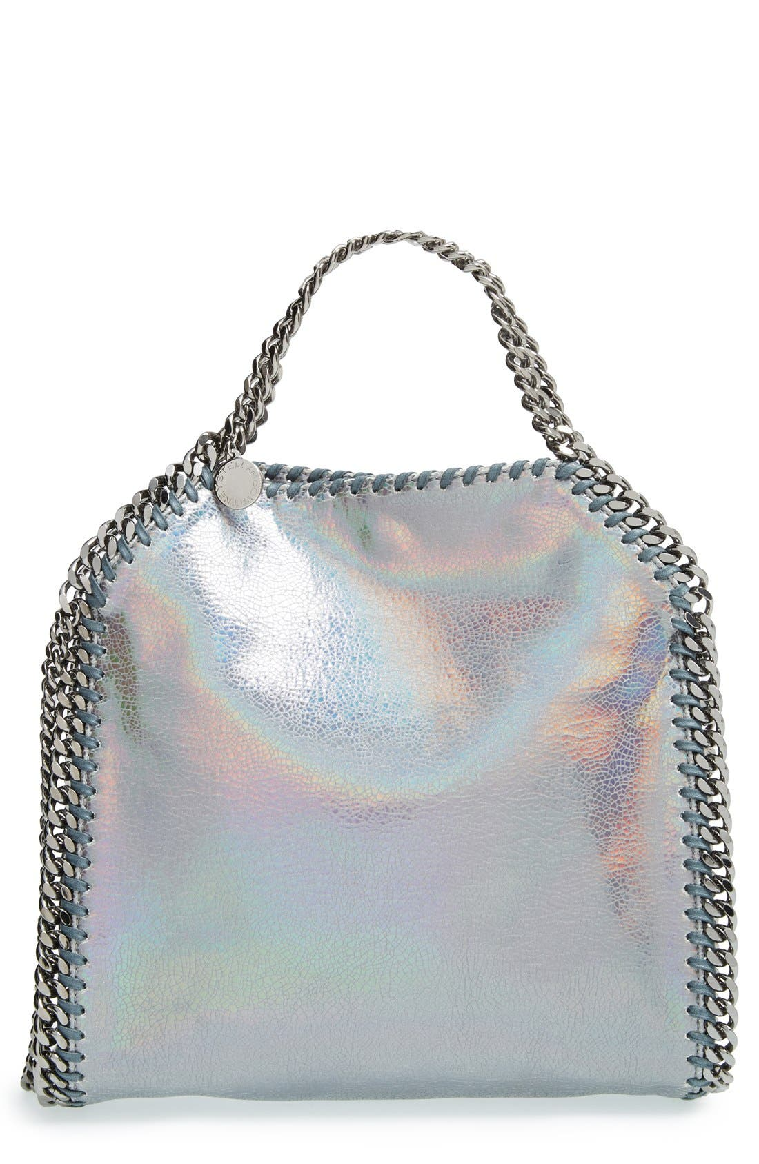 Alternate Image 1 Selected - Stella McCartney 'Mini Hologram Falaballa' Faux Leather Tote