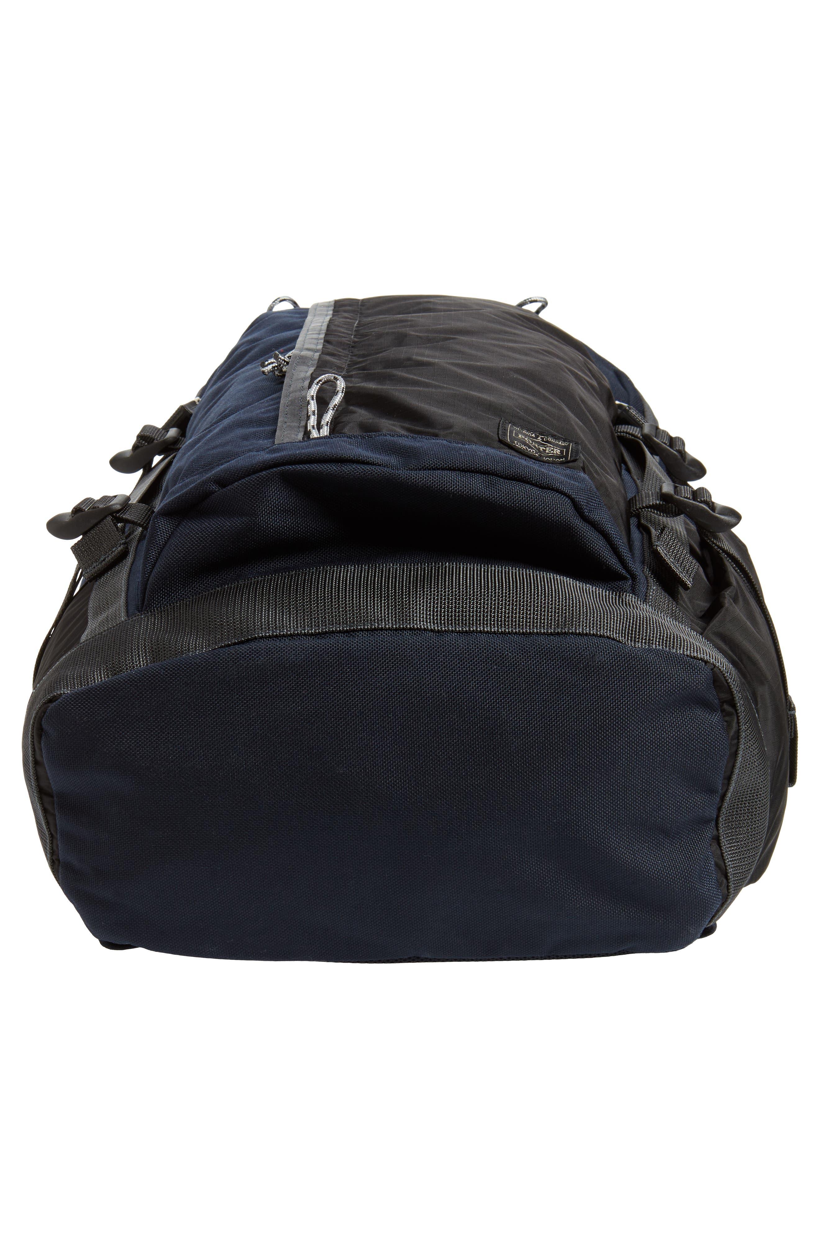 Porter-Yoshida & Co. Hype Backpack,                             Alternate thumbnail 6, color,                             Navy/ Black