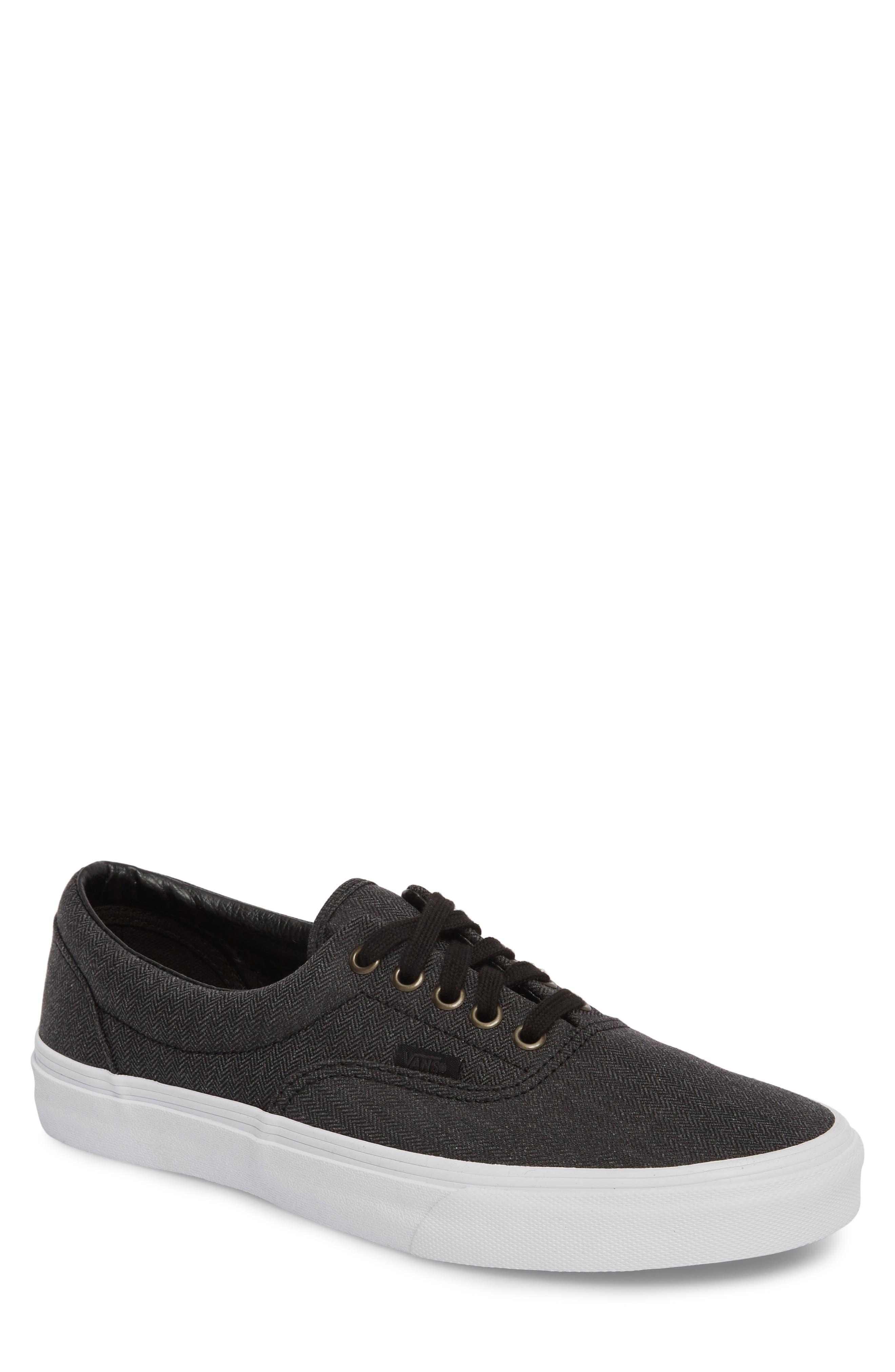 'Era' Sneaker,                         Main,                         color, Black/ White