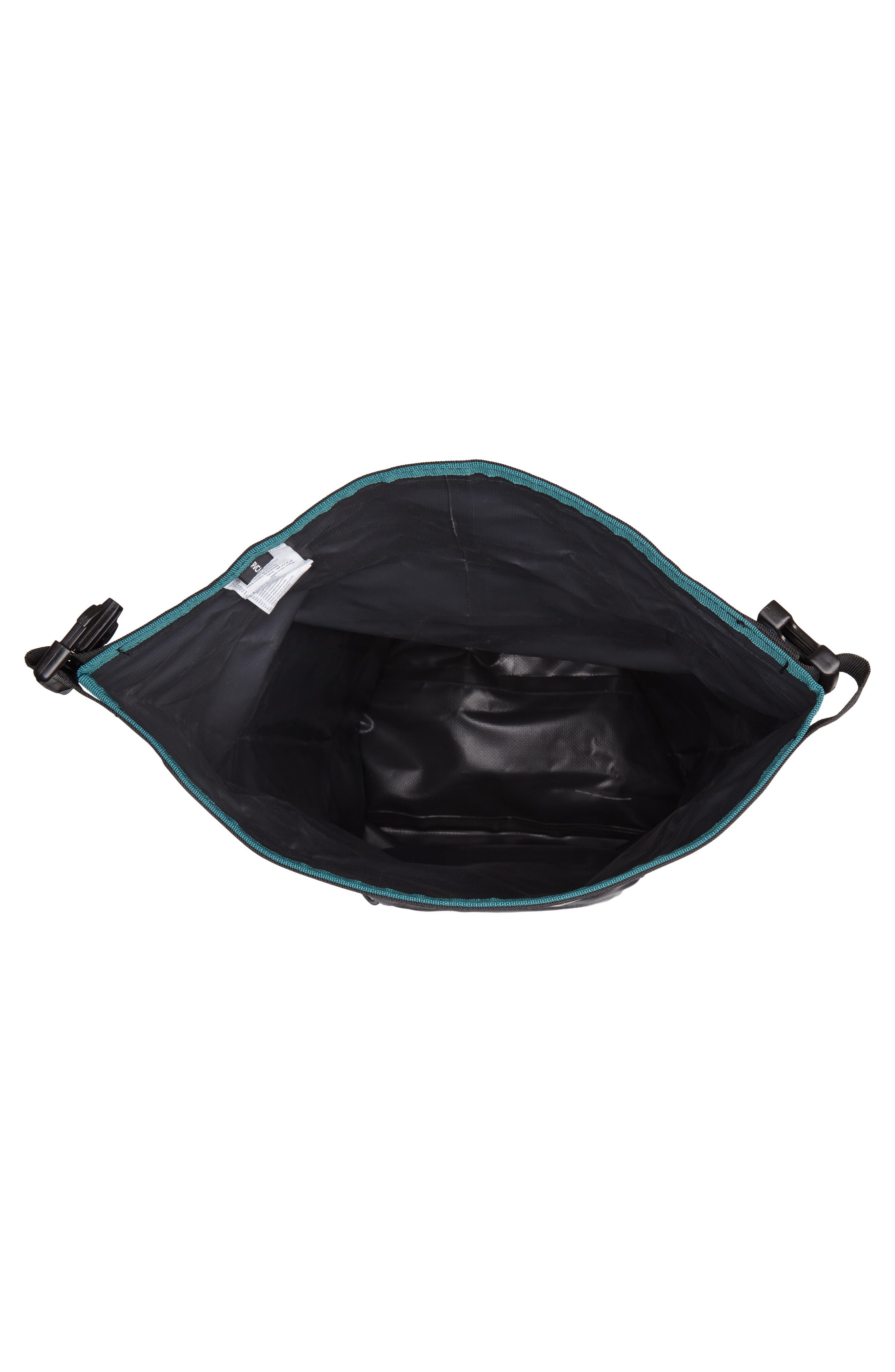 Go Be II Waterproof Backpack,                             Alternate thumbnail 4, color,                             Charcoal