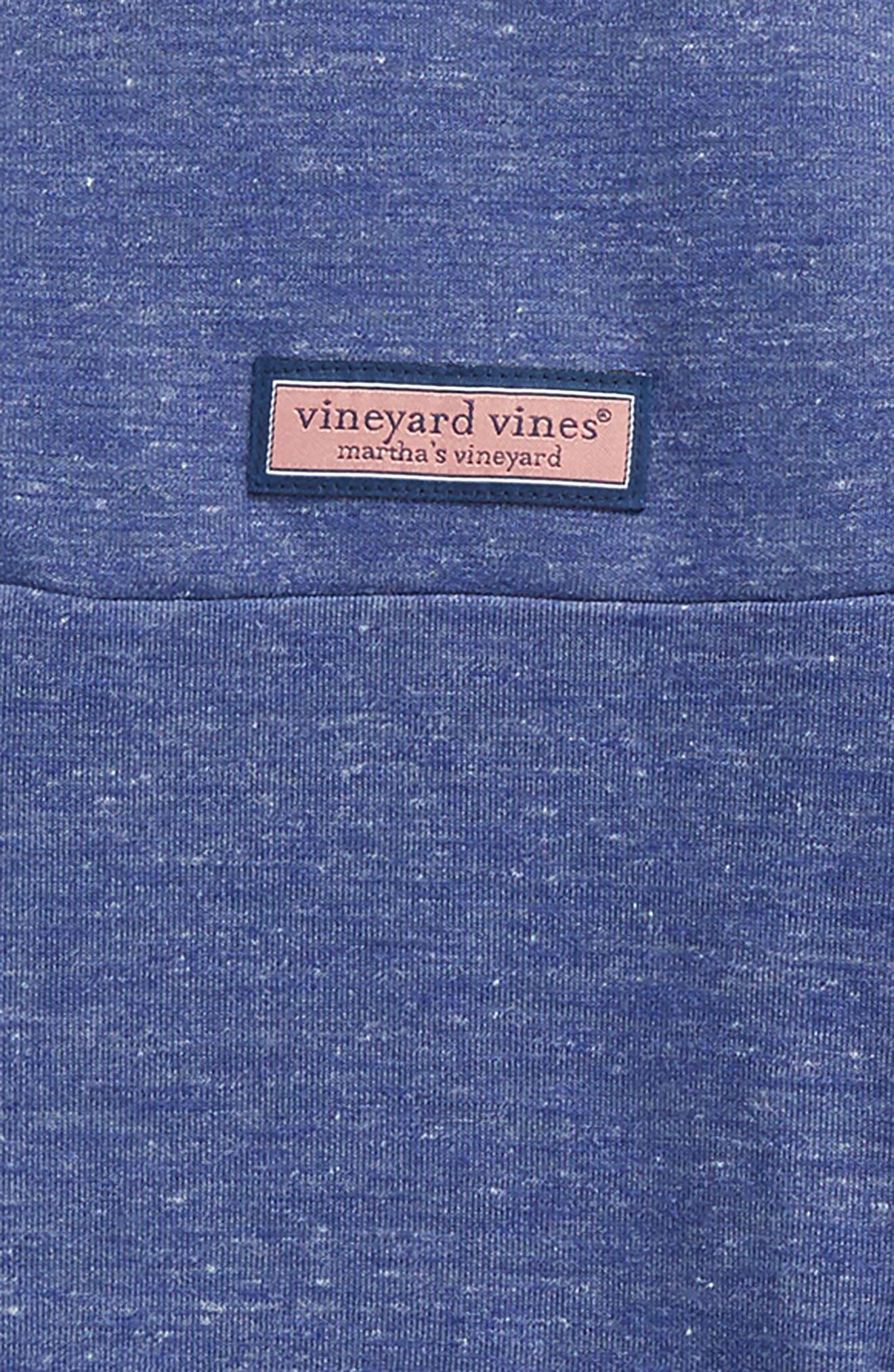 Alternate Image 2  - vineyard vines Mesh Shep Quarter Zip Pullover (Big Boys)