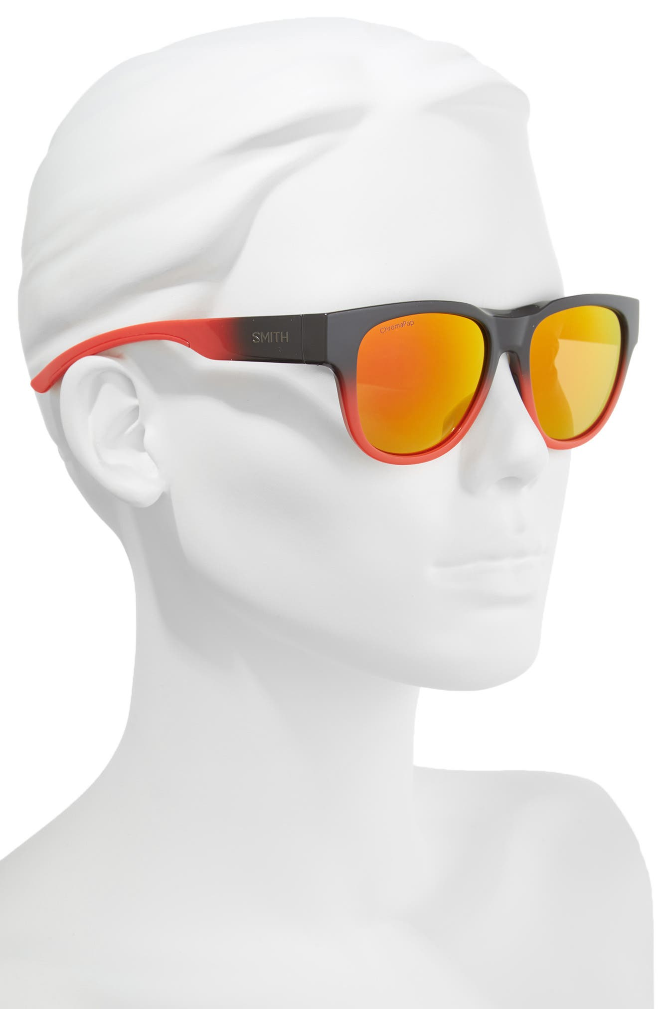 Alternate Image 2  - Smith Rounder 52mm ChromaPop™ Polarized Sunglasses
