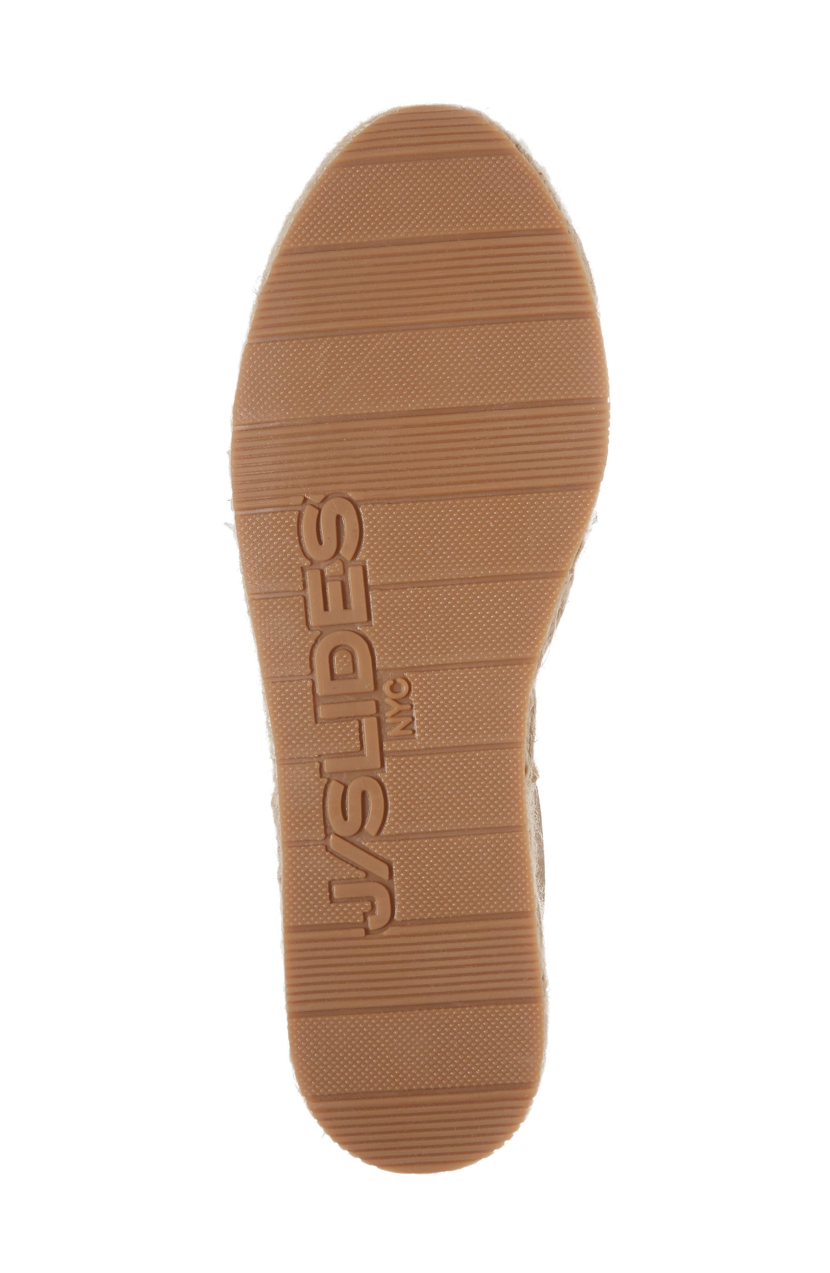 Raoul Espadrille Sneaker,                             Alternate thumbnail 6, color,                             Bronze Leather