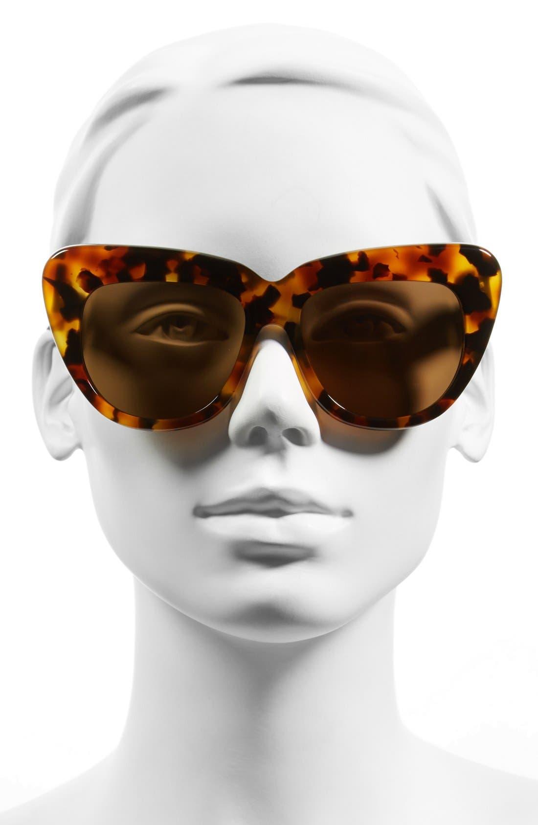 Alternate Image 2  - Illesteva 'Brigitte' 55mm Retro Sunglasses