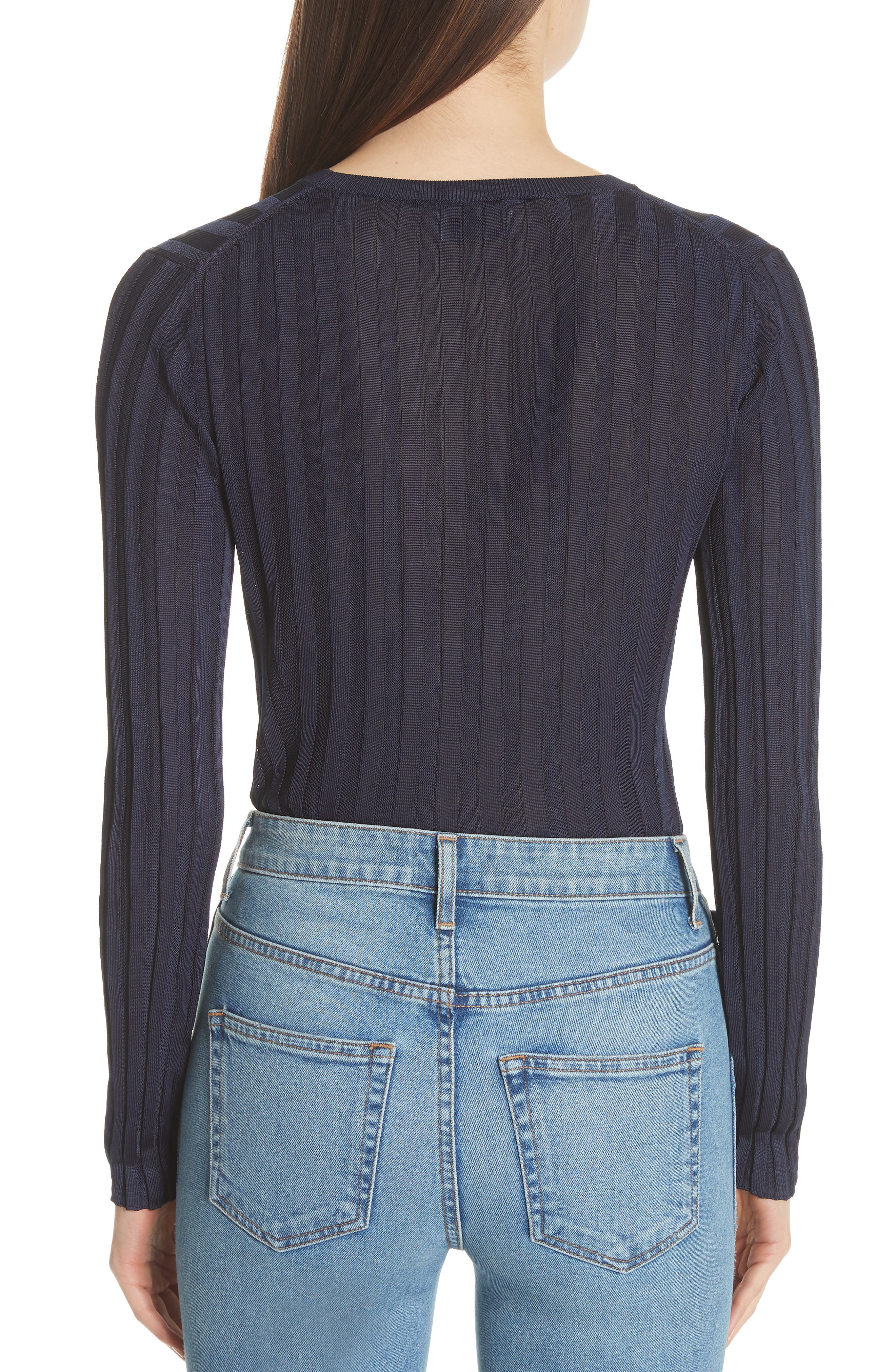 Alternate Image 2  - Acne Studios Sitha Ribbed Top