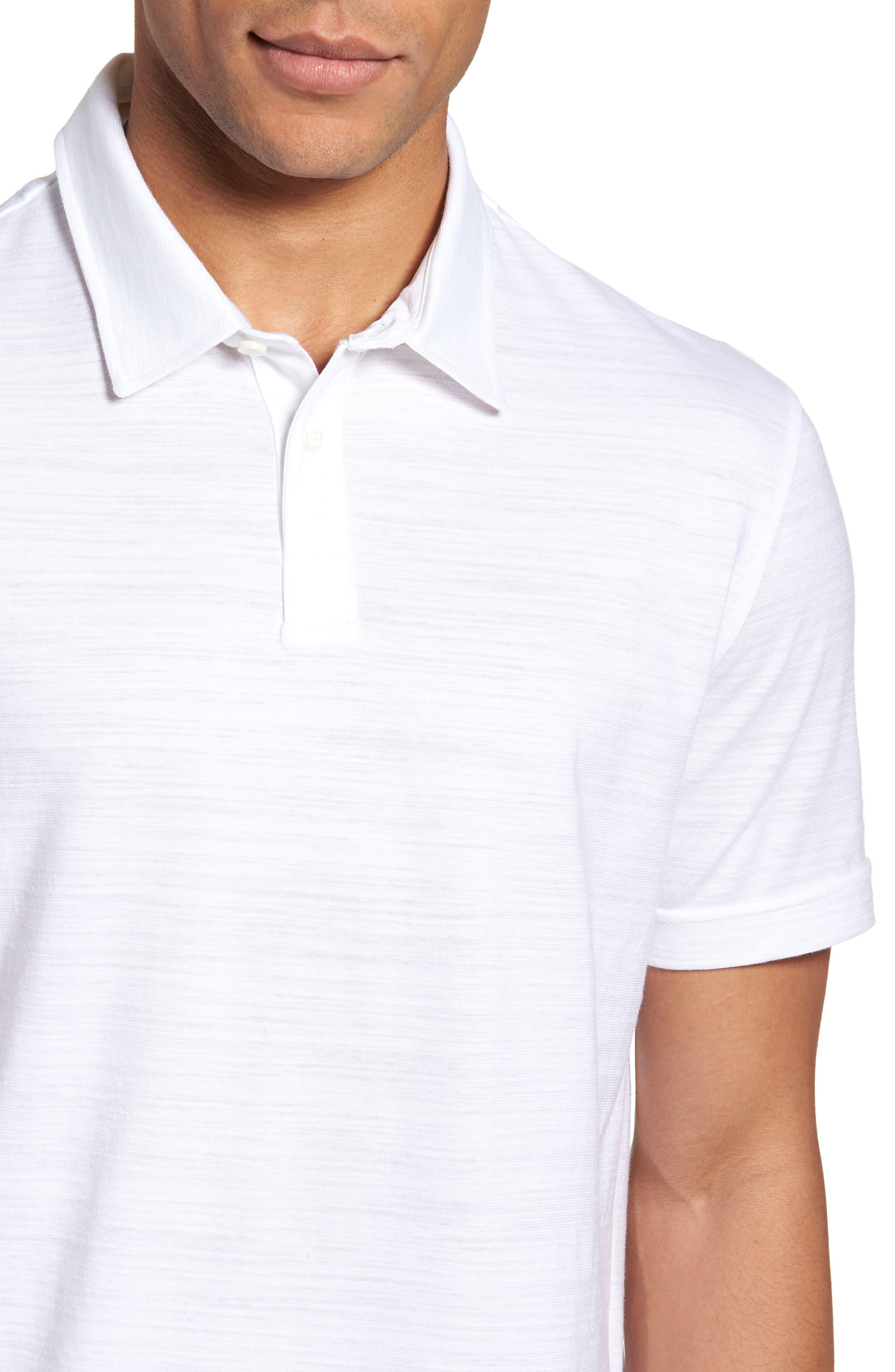 Alternate Image 4  - BOSS Press Flame Slim Fit Polo Shirt