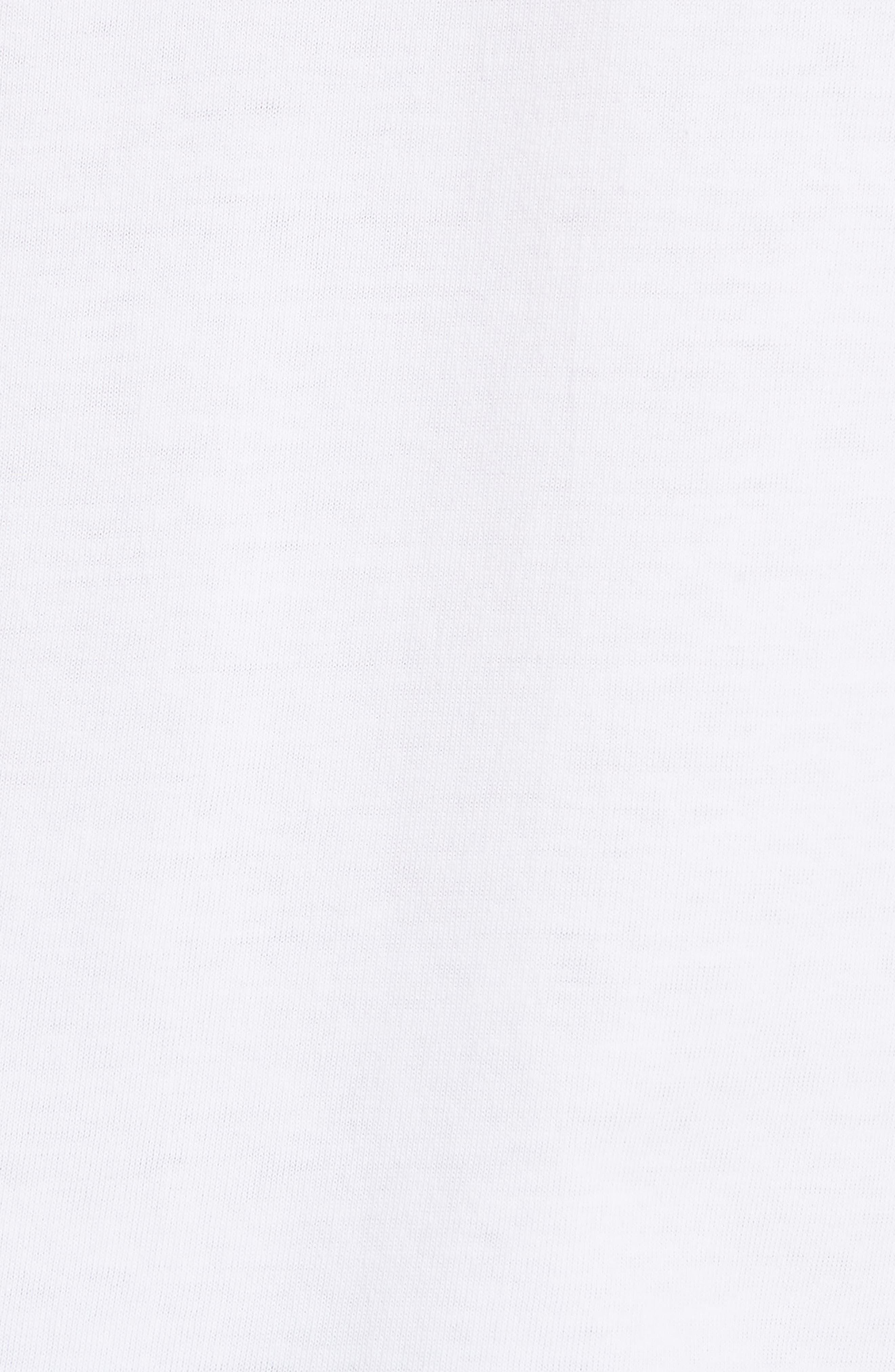 Comme des Garçons PLAY Graphic T-Shirt,                             Alternate thumbnail 5, color,                             1 White