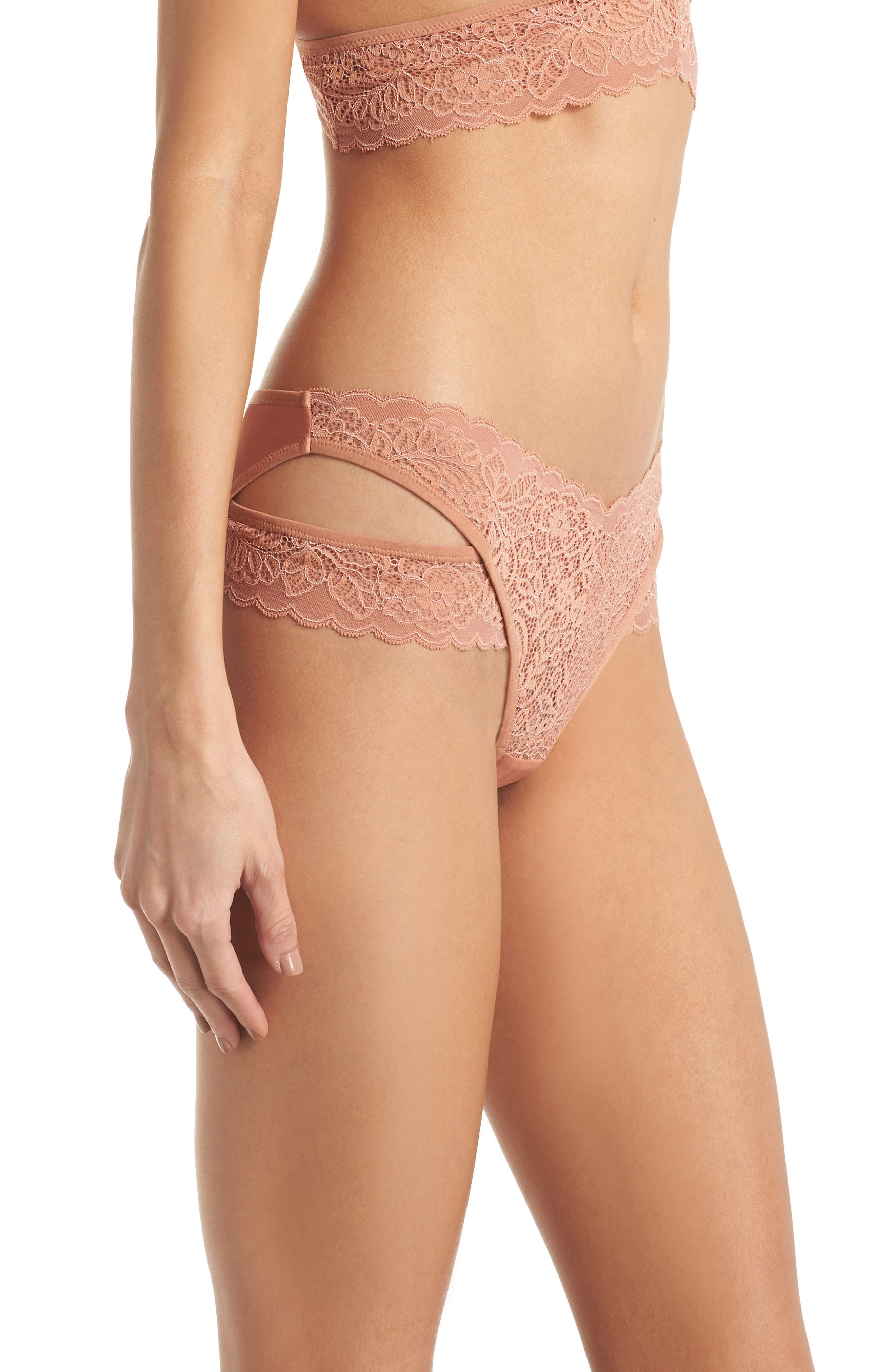 Thisle & Spire Marcy Briefs,                             Alternate thumbnail 3, color,                             Terracotta