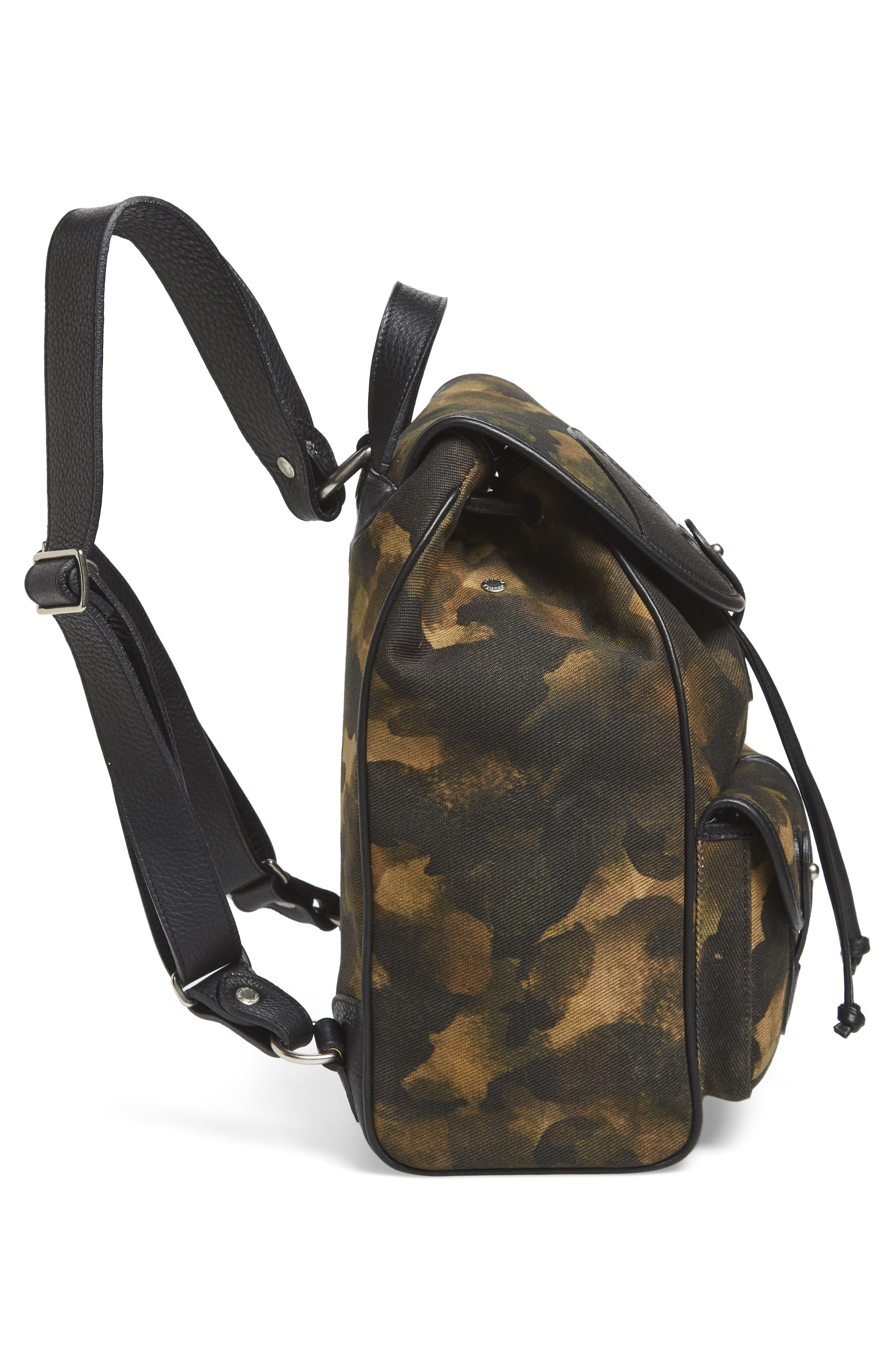 Blazer Canvas Backpack,                             Alternate thumbnail 5, color,                             Camo Solid