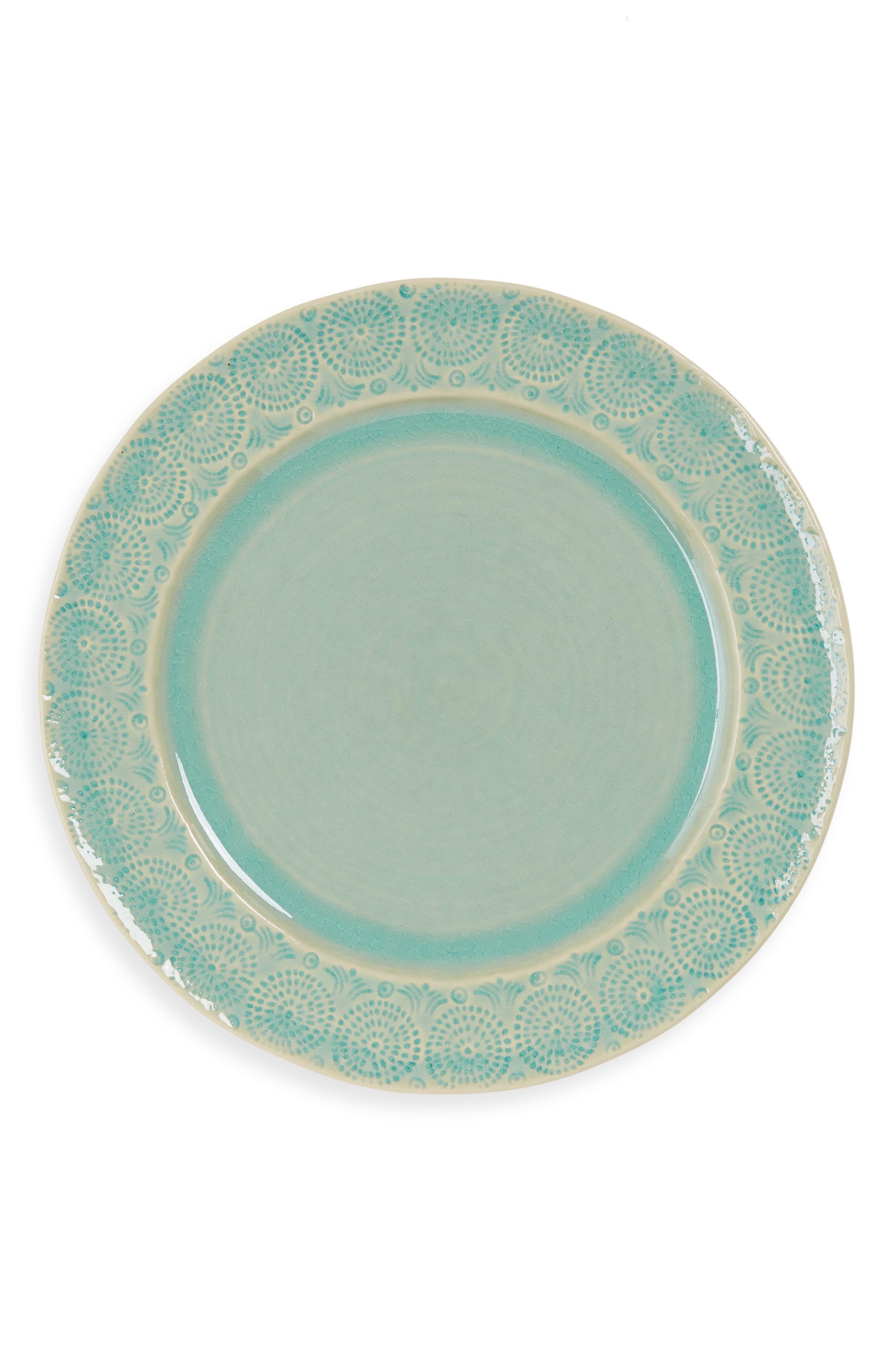 Anthropologie Old Havana Dinner Plate