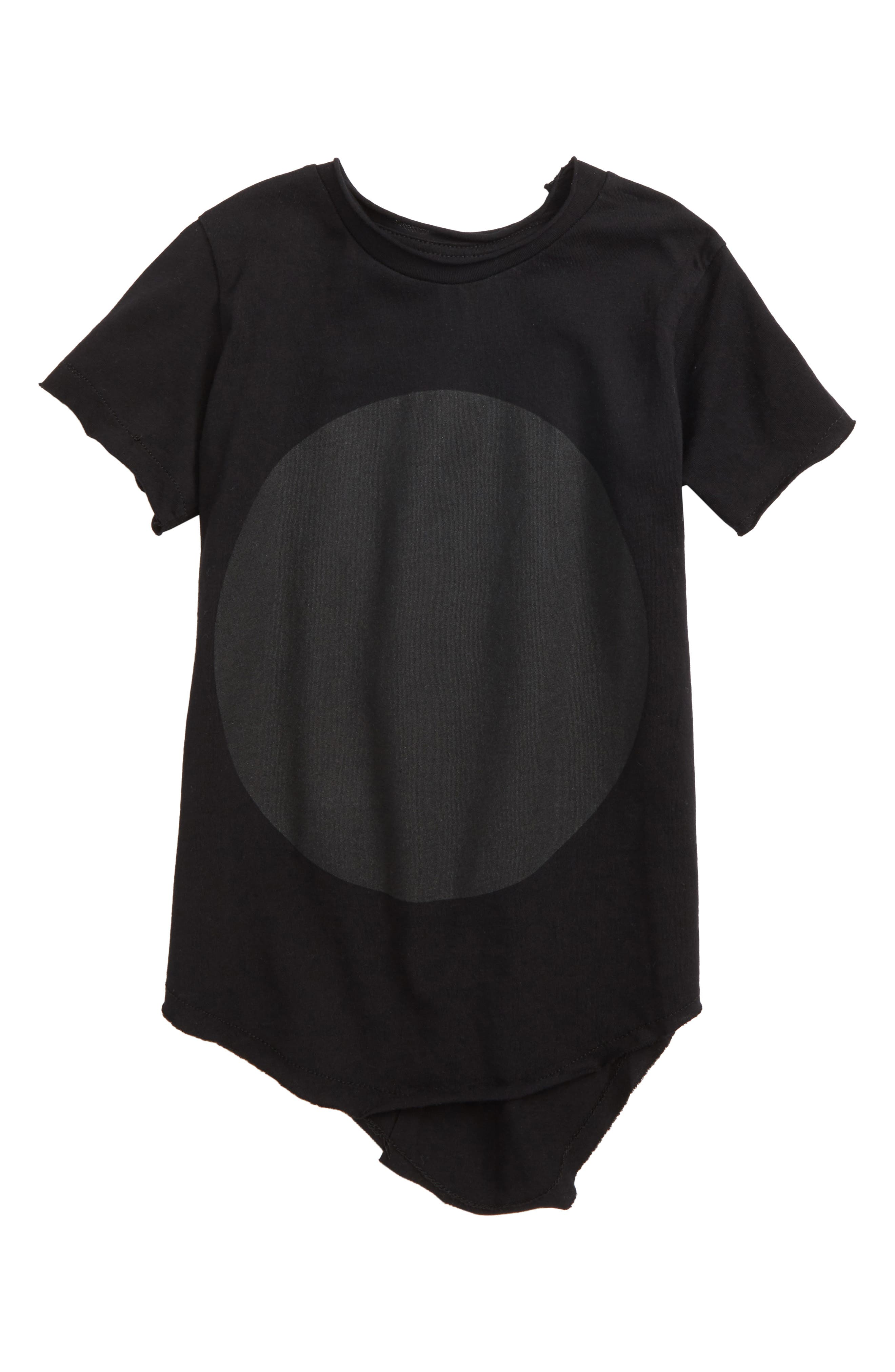 Circle Graphic Shirt,                             Main thumbnail 1, color,                             Black