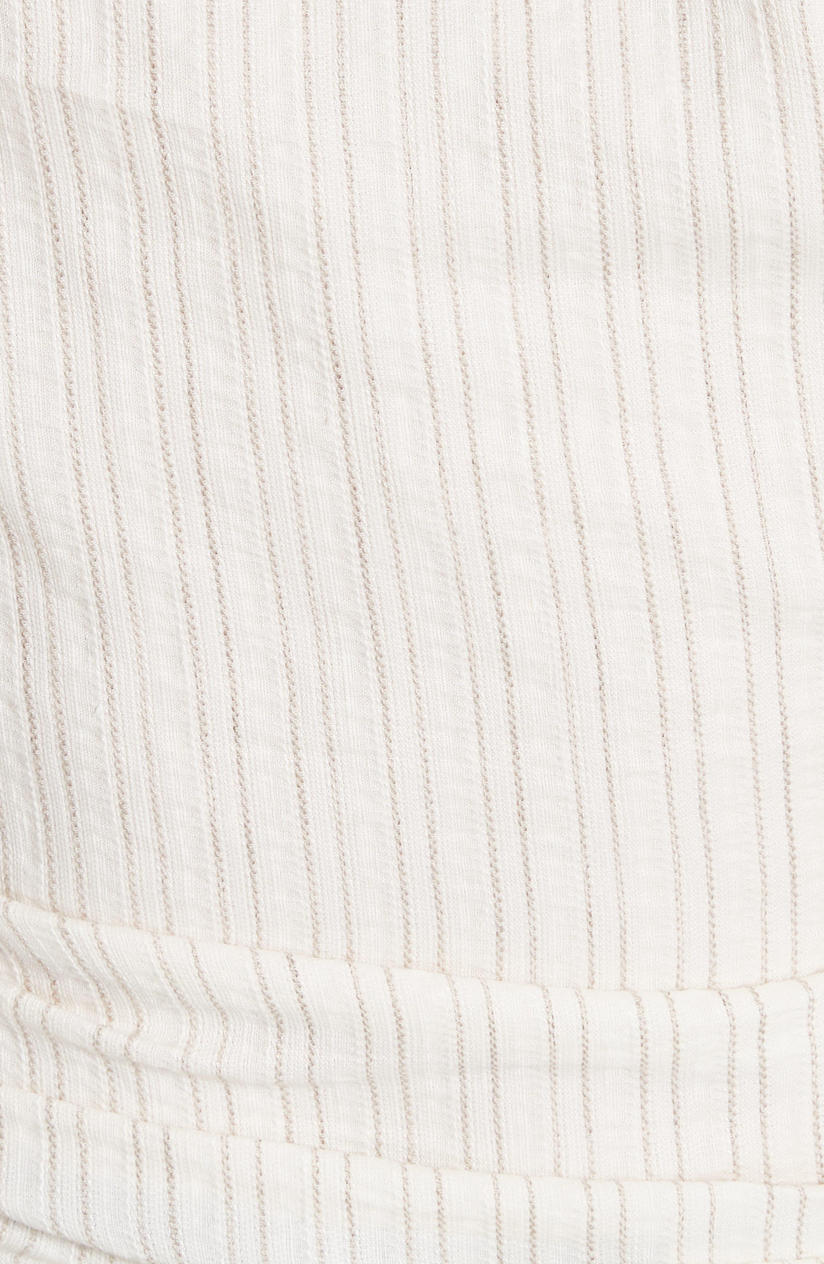 La Chemise Belem Shirt,                             Alternate thumbnail 5, color,                             Beige Striped