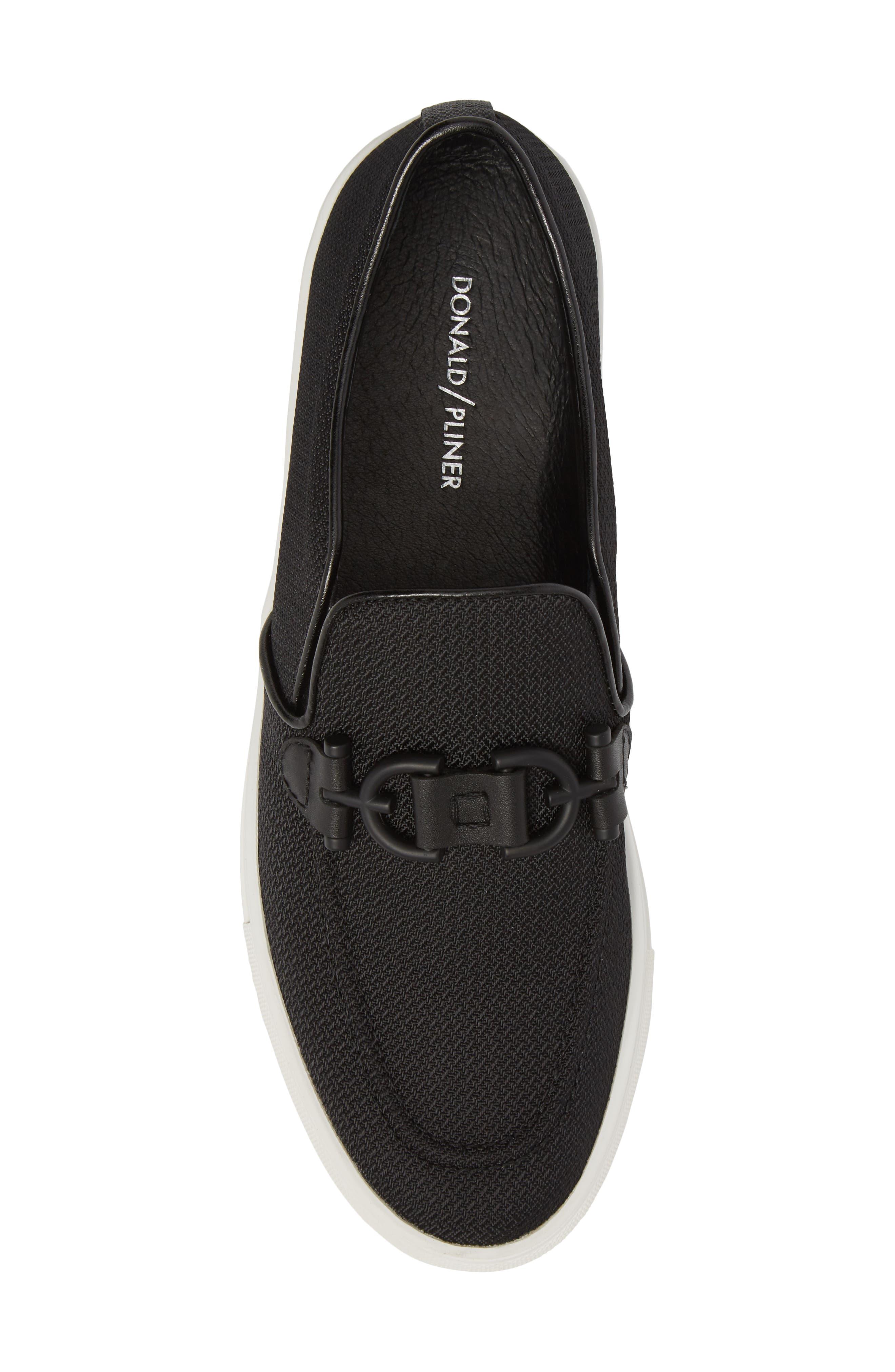 Andor Bit Slip-On Sneaker,                             Alternate thumbnail 5, color,                             Black Mesh