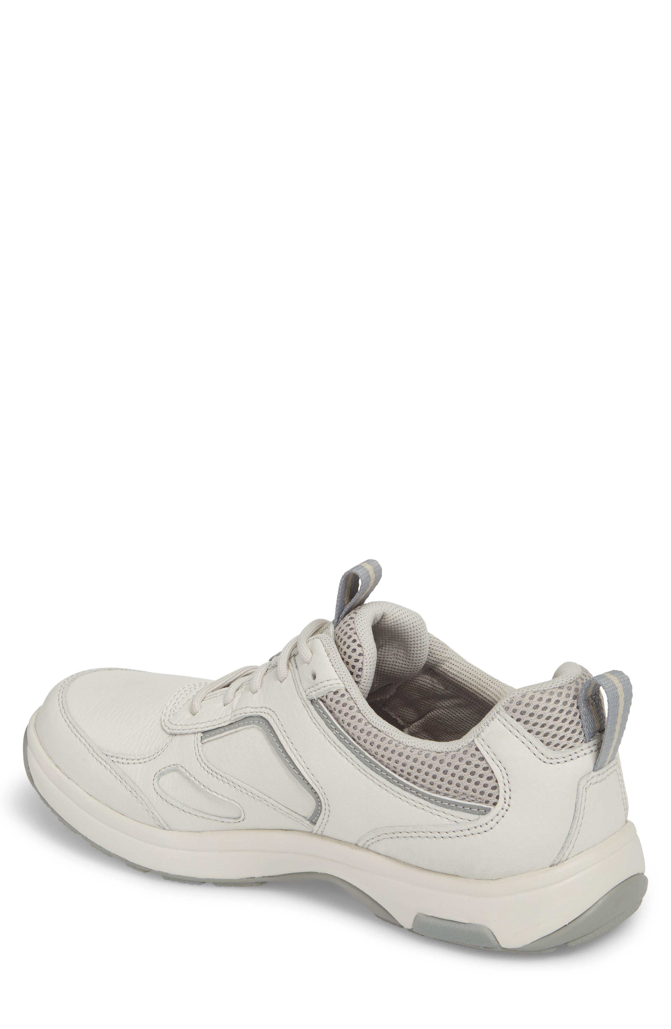 8000 Uball Sneaker,                             Alternate thumbnail 2, color,                             Off White Leather